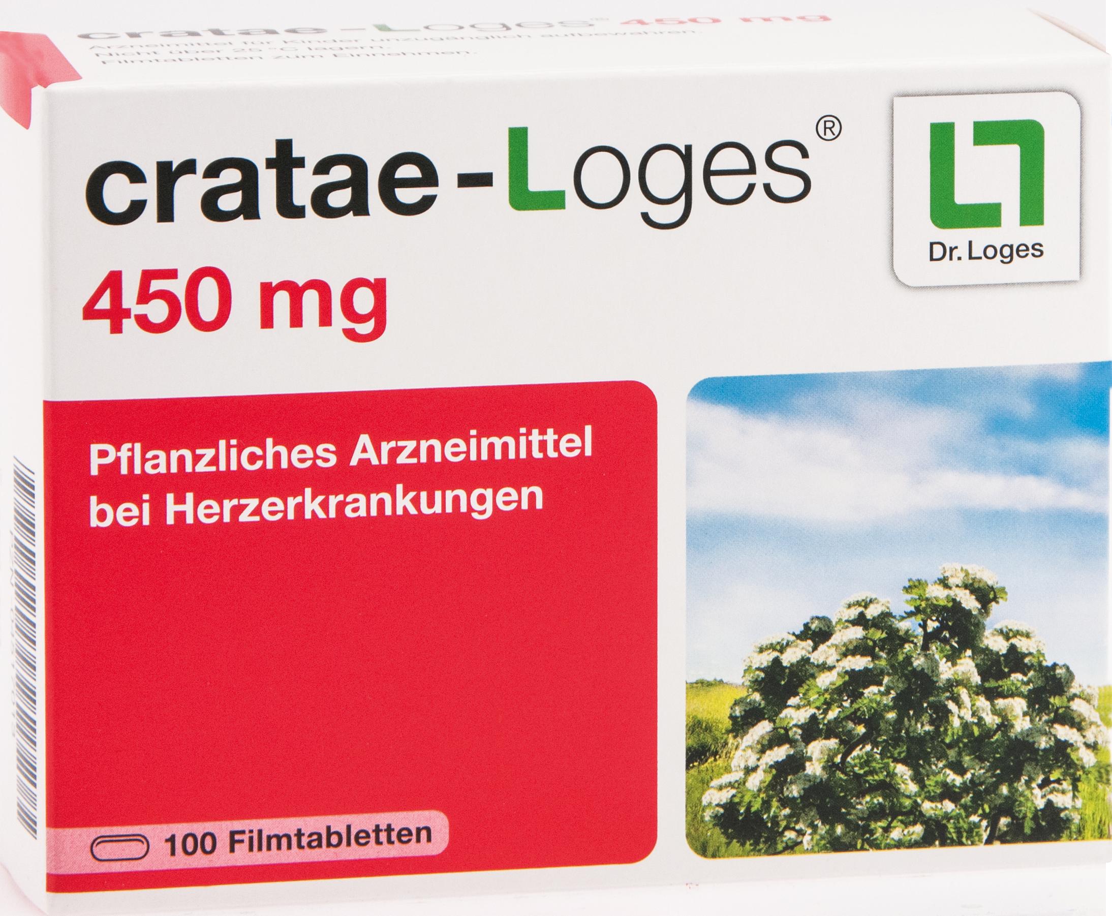 cratae-loges 450mg