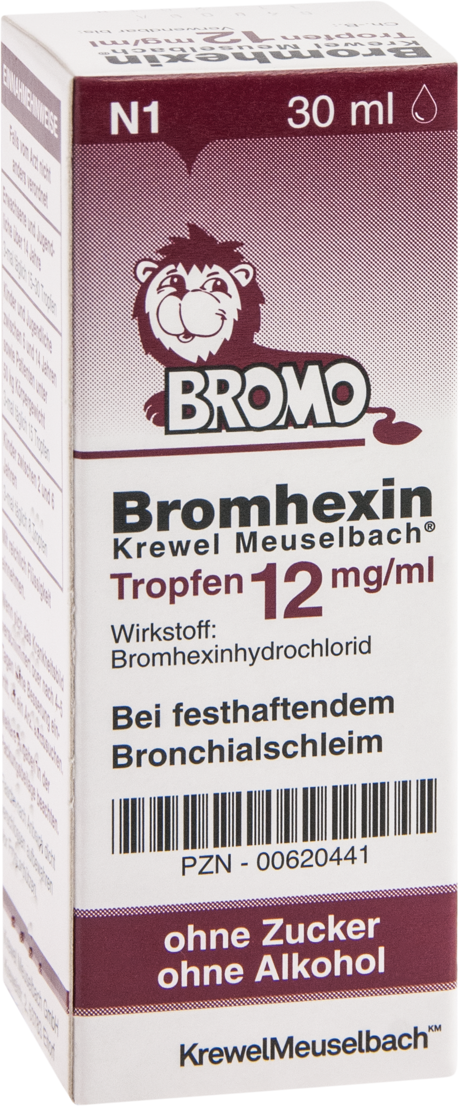 Bromhexin K.Meuselb.Trf.12mg/ml