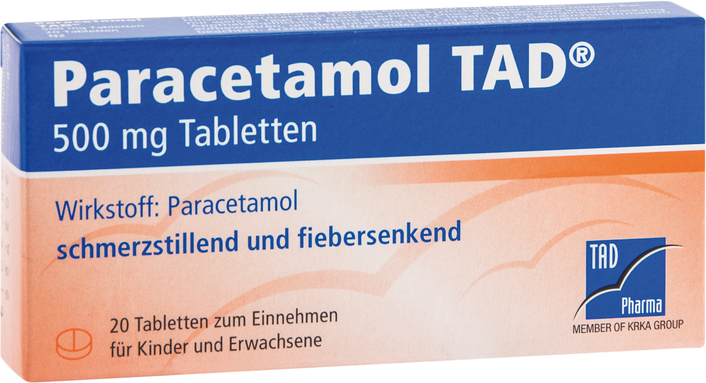Paracetamol TAD 500mg Tabletten