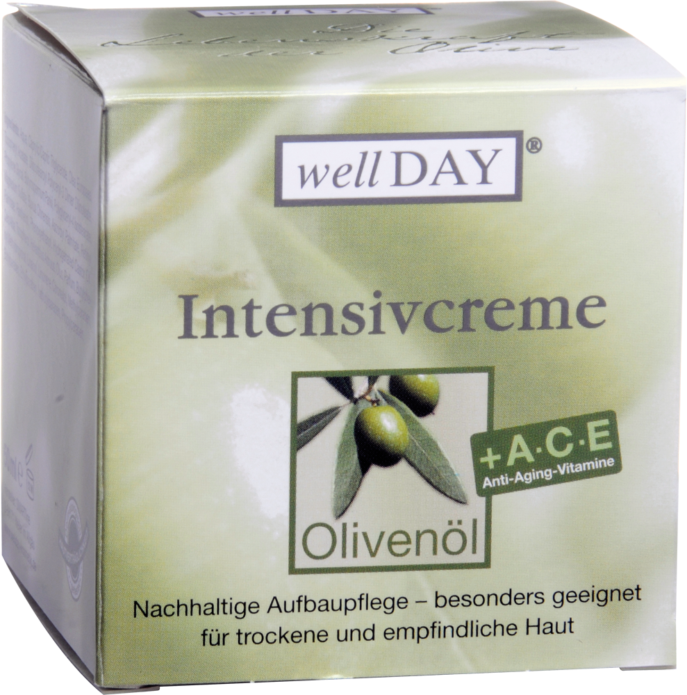 Olivenöl wellDAY Intensivcreme