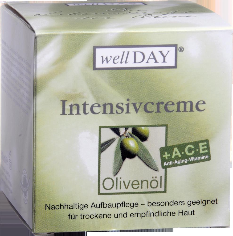 Olivenöl wellDAY Intensivcreme