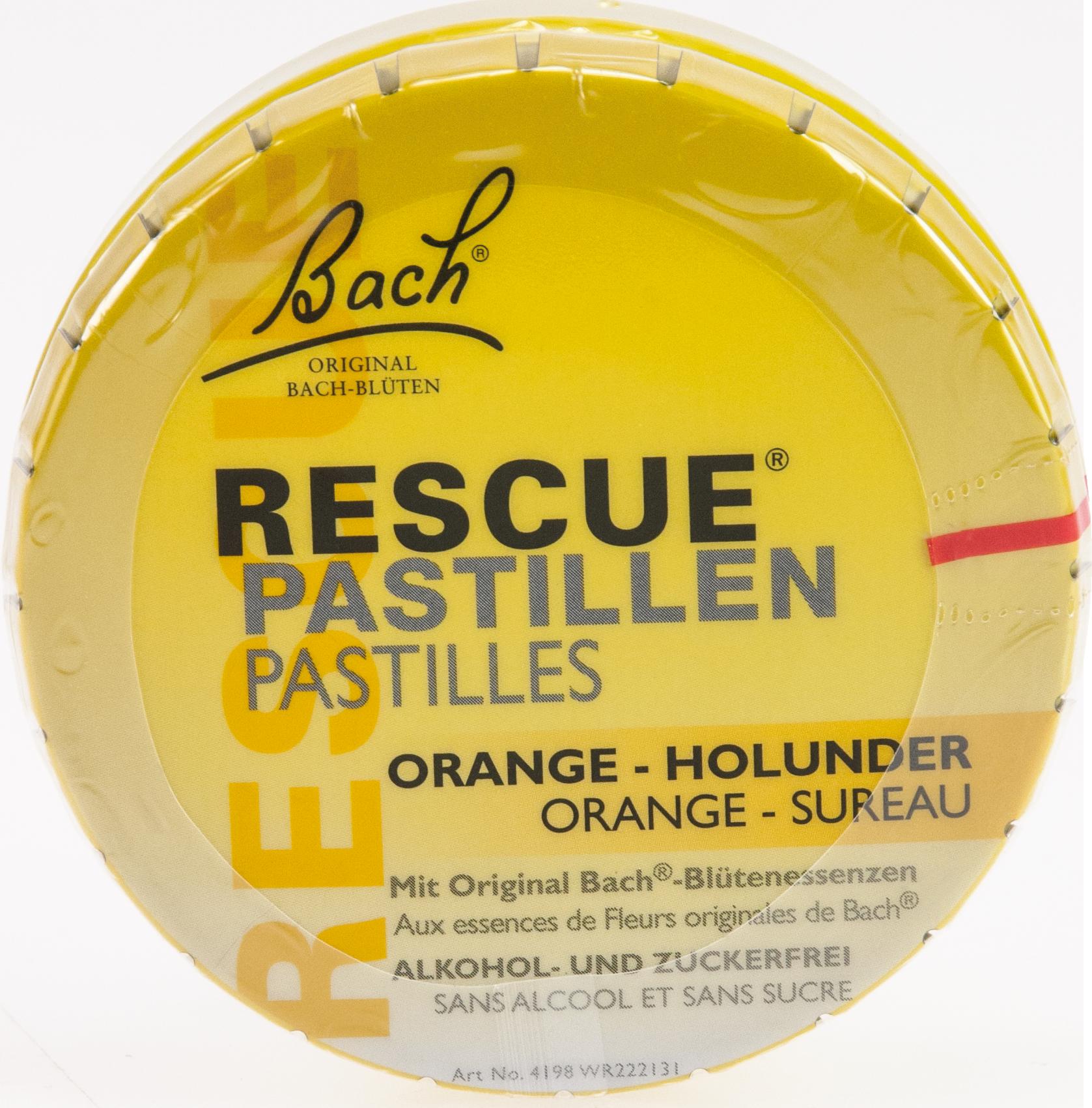 Bach Original Rescue Pastillen Orange-Holunder