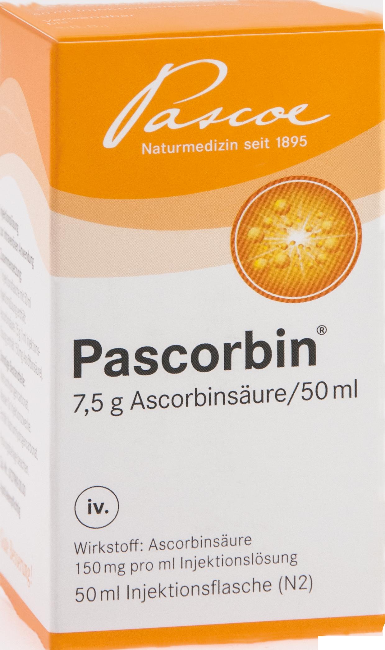PASCORBIN (7.5g Ascorbinsäure/50ml)