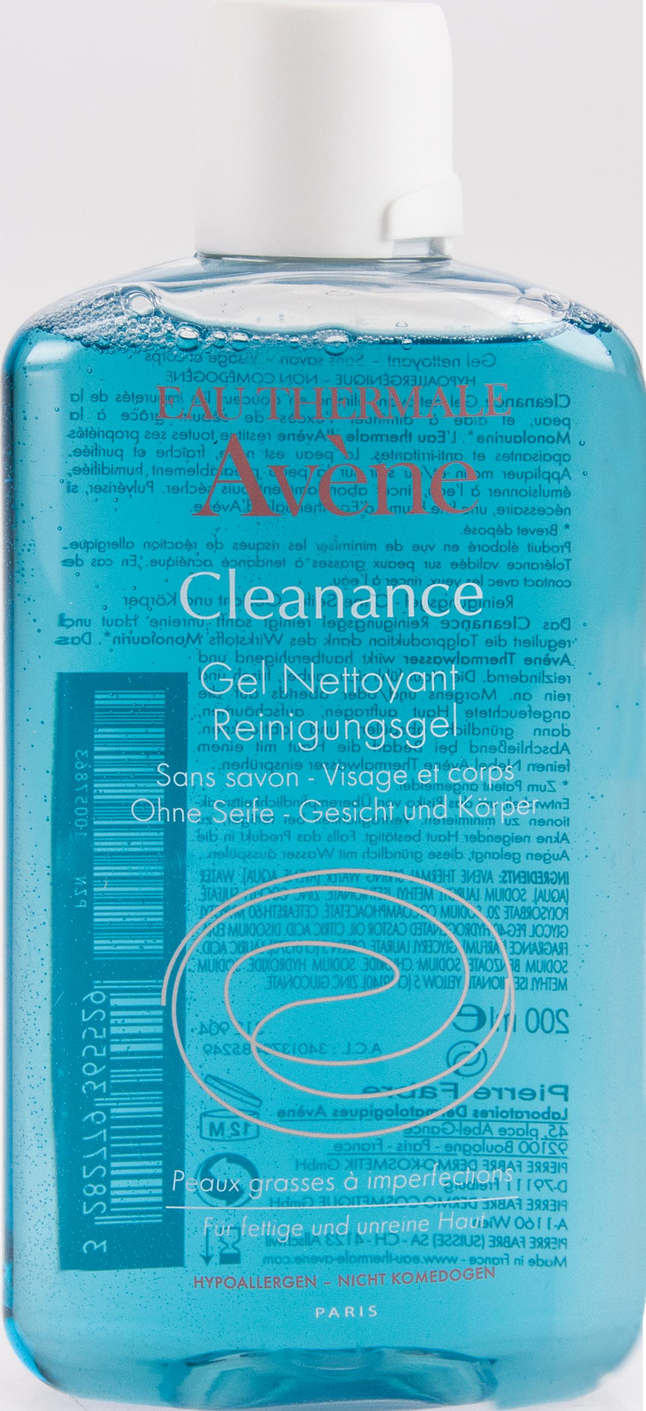 AVENE Cleanance Reinigungsgel+Monolaurin