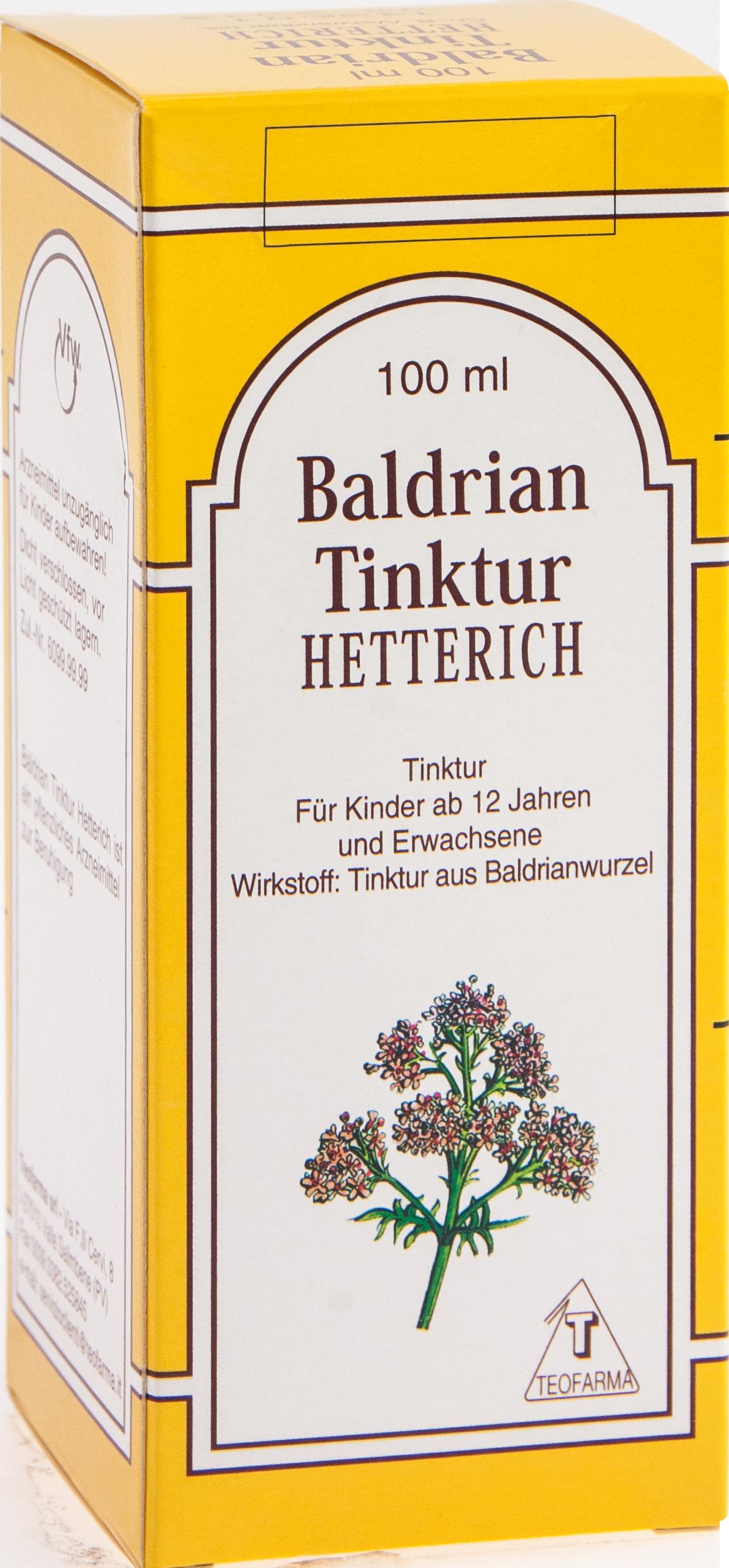 BALDRIANTINKTUR HETTERICH