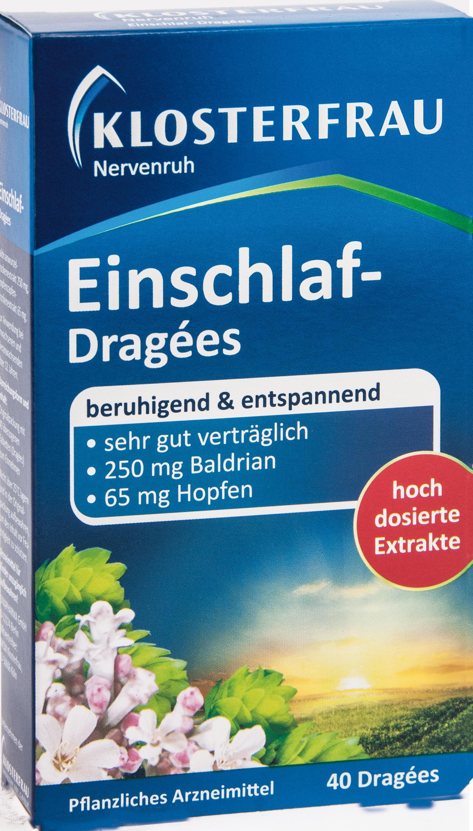 Klosterfrau Einschlaf-Dragees Nervenruh