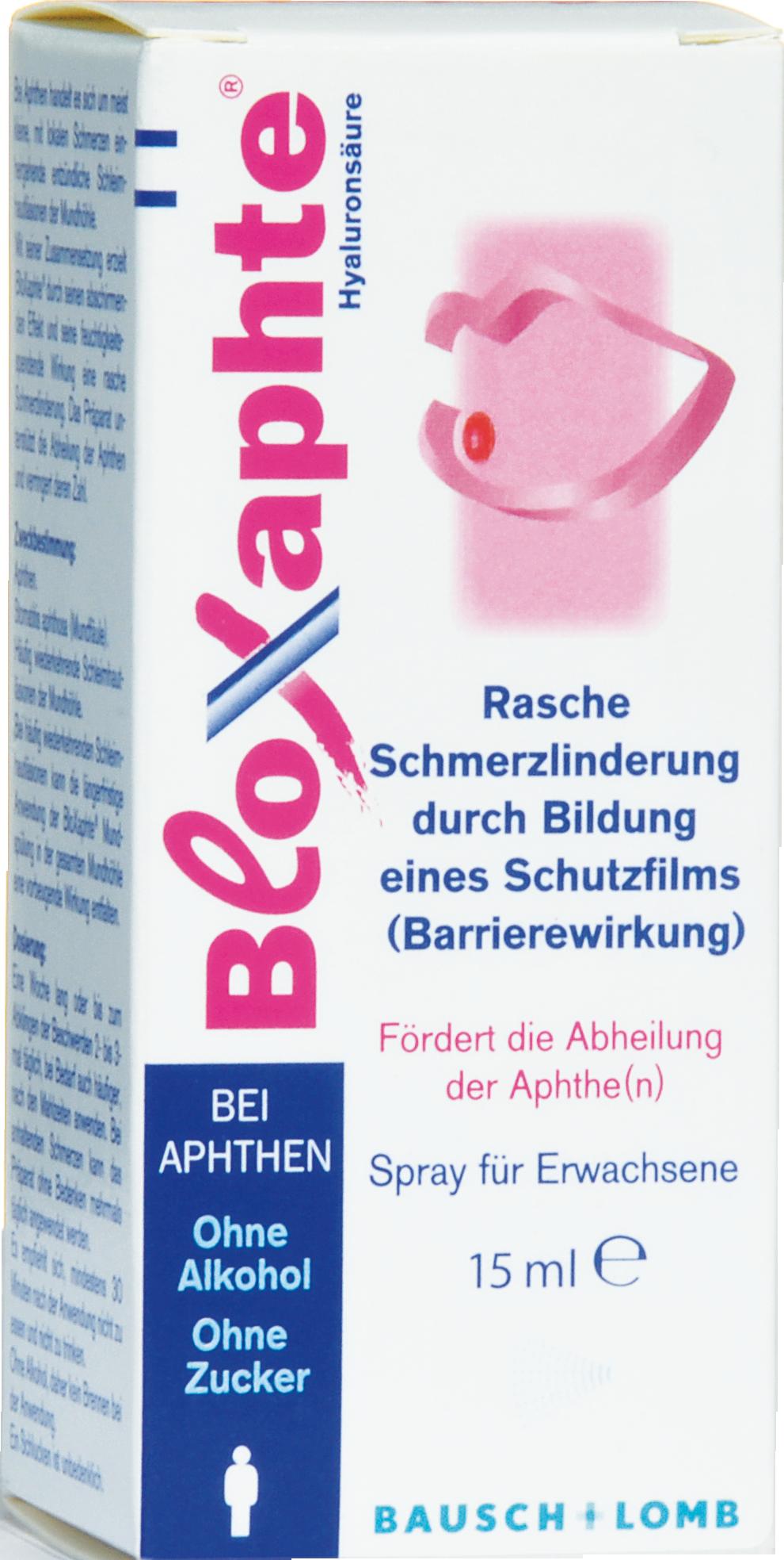 Bloxaphte Spray für Erwachsene