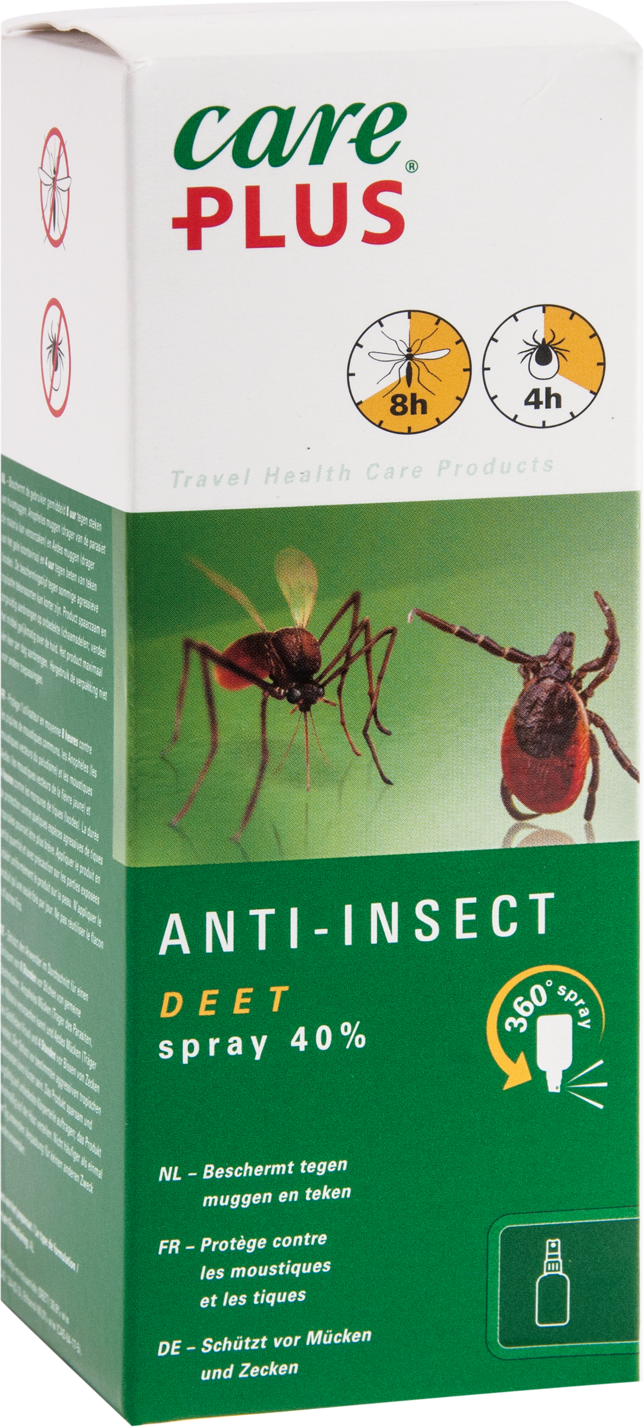 Care Plus Anti-Insect Deet 40% XXL