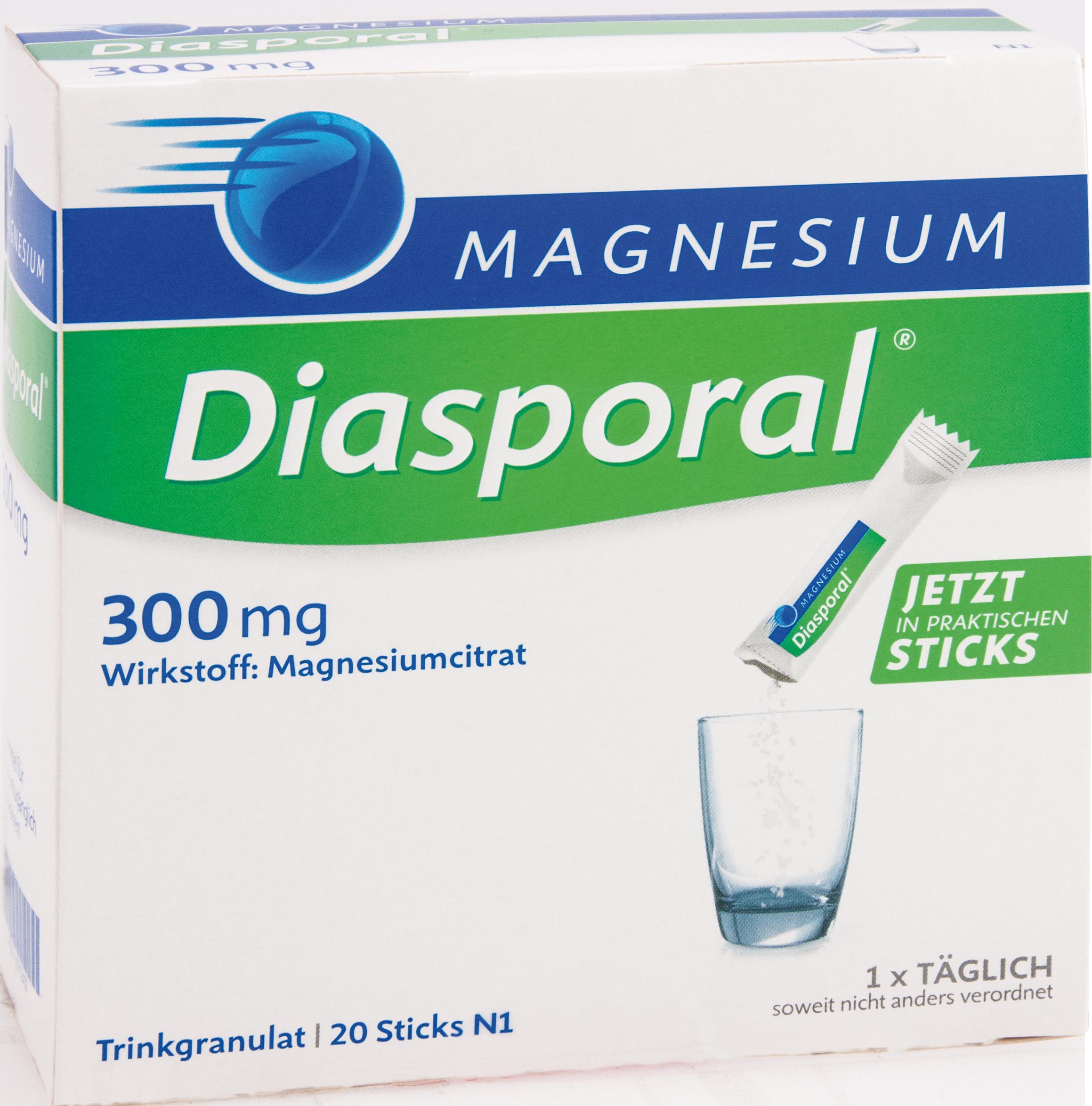 Magnesium-Diasporal 300mg