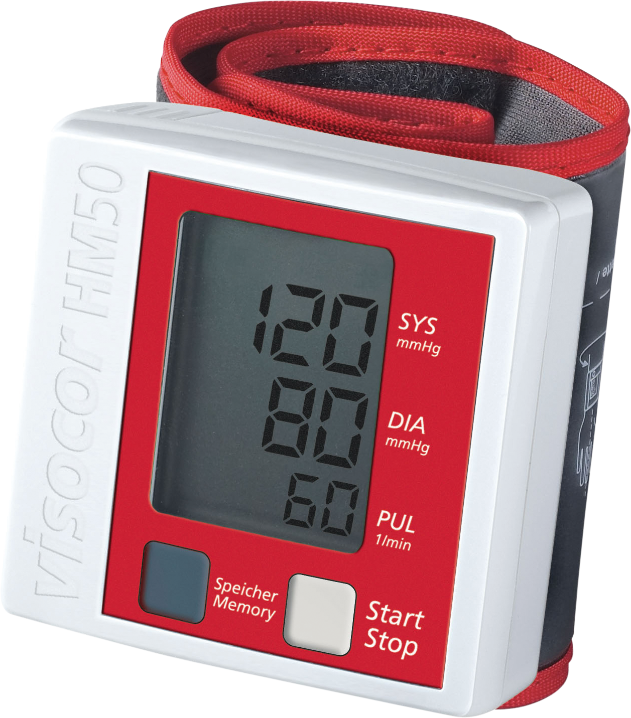 visocor HM50 Handgelenk-Blutdruckmessgerät
