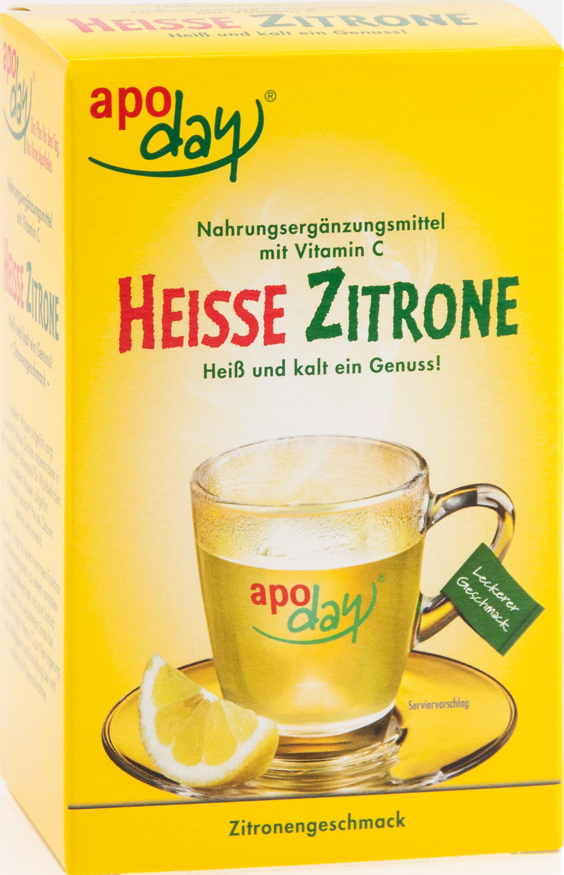 apoday Heisse Zitrone Vitamin C
