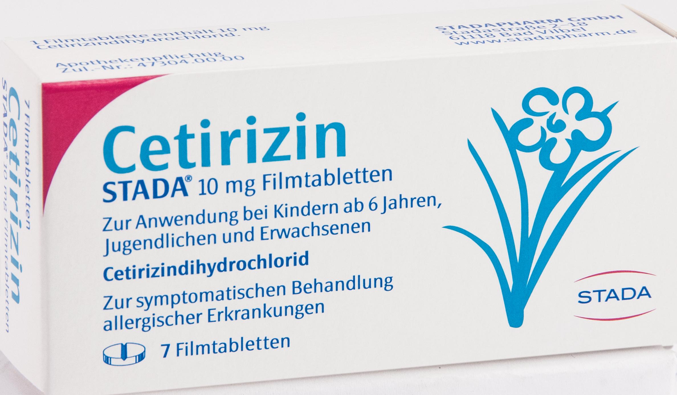 Cetirizin STADA 10mg Filmtabletten