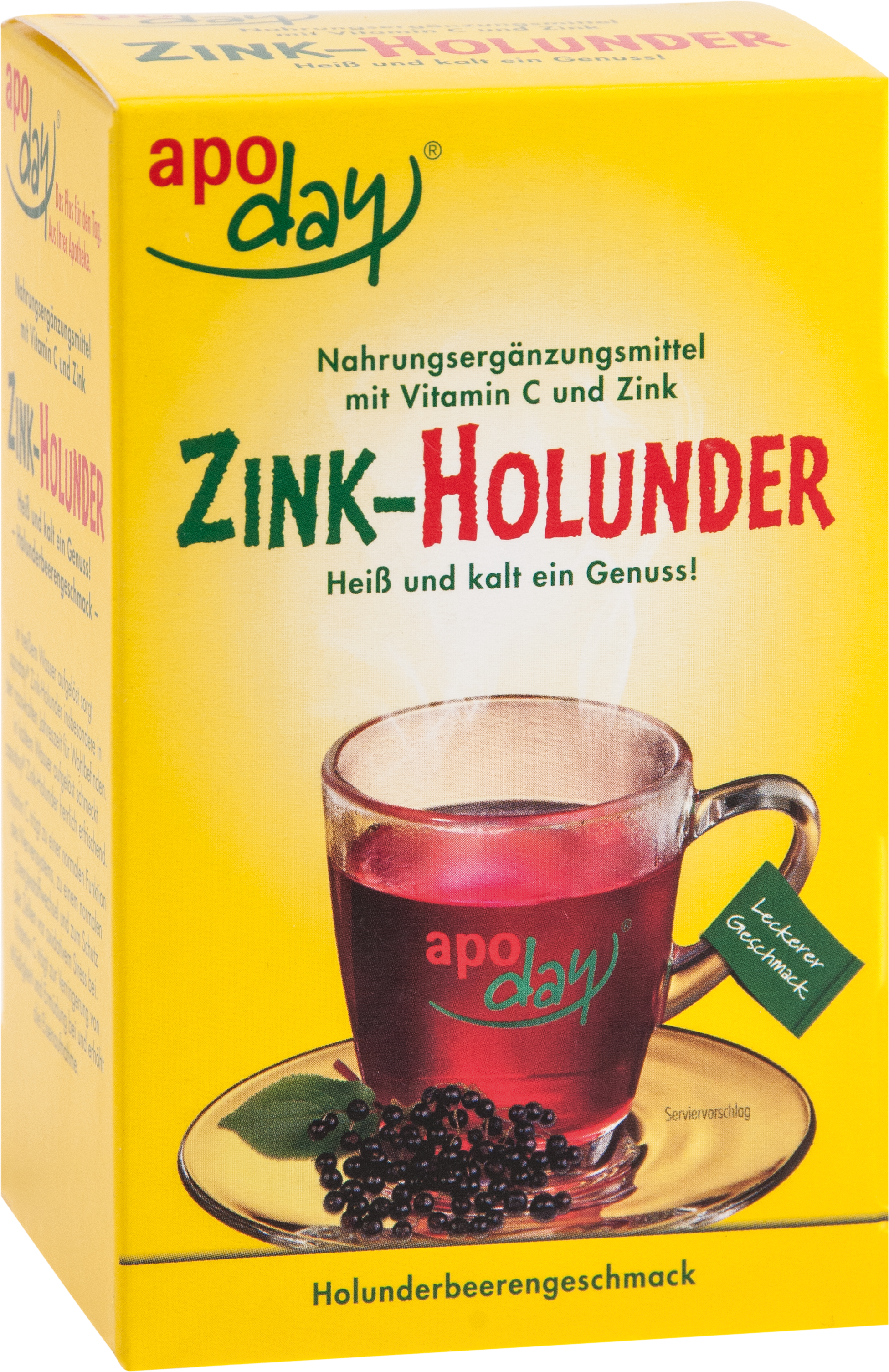 apoday Holunder Vitamin C + Zink o. Zuckerzusatz