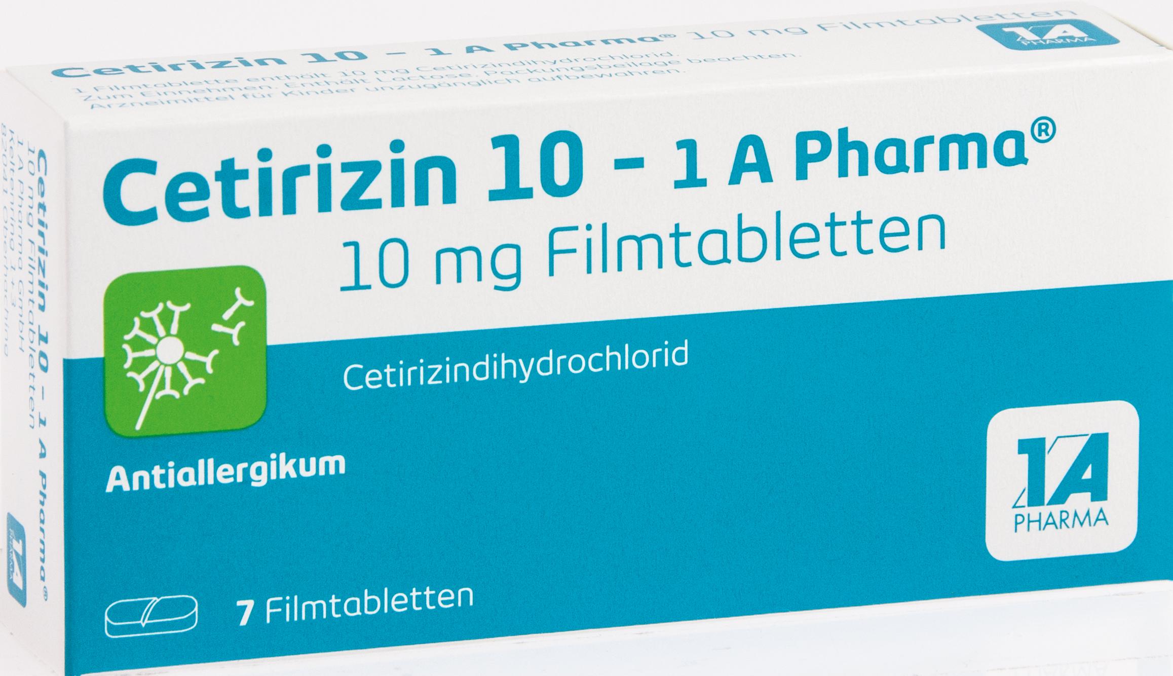 Cetirizin 10 - 1 A Pharma