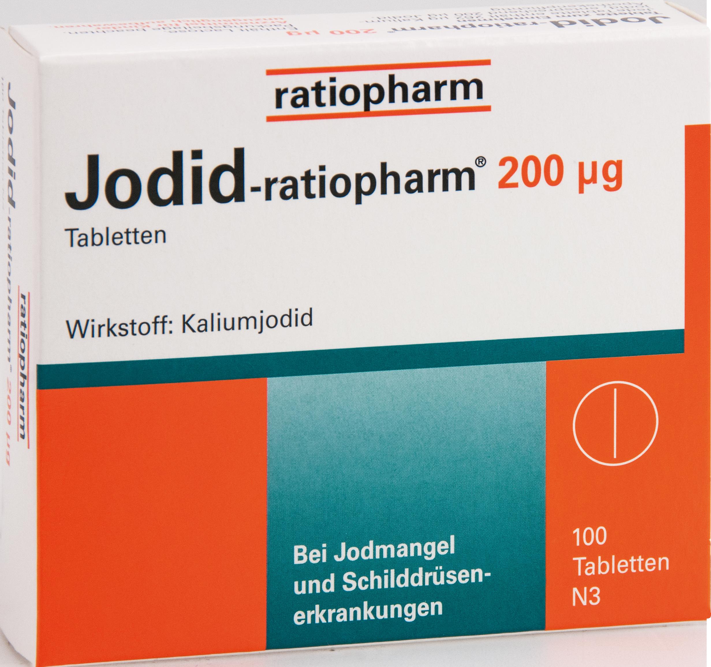 Jodid-ratiopharm 200ug