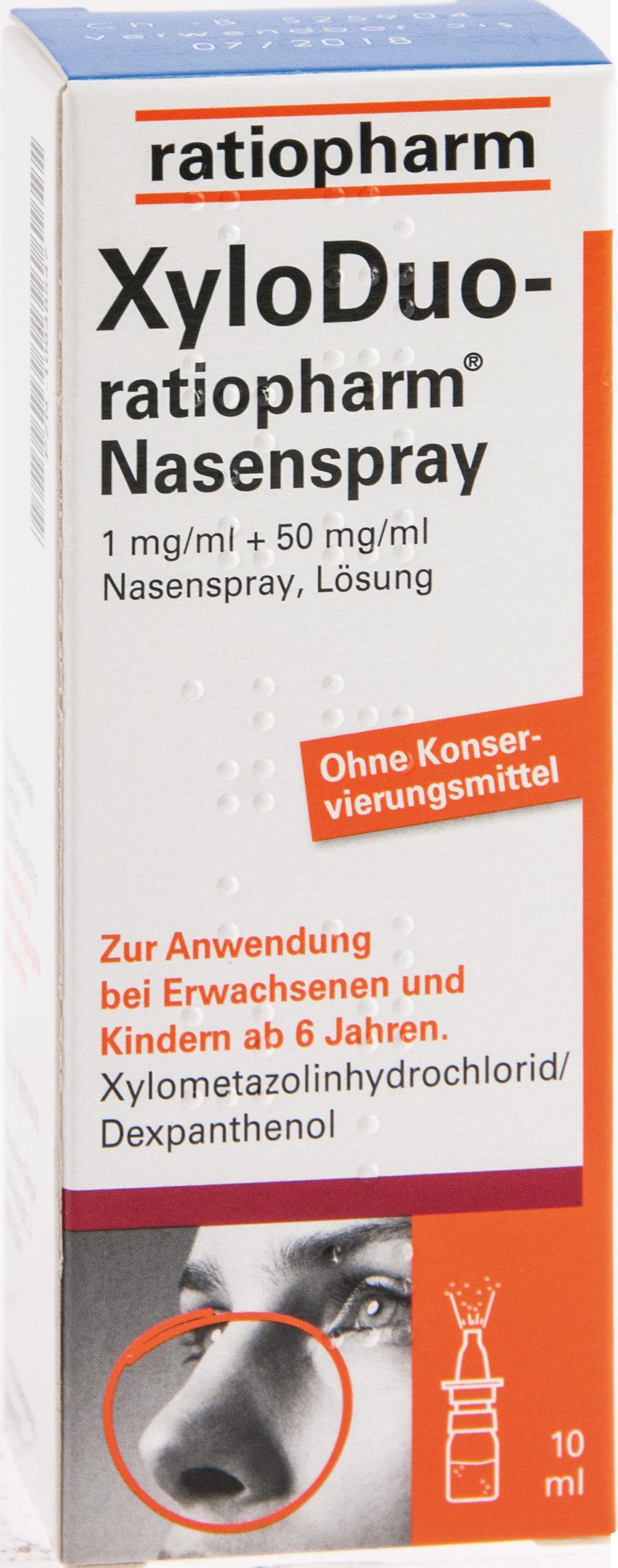 XyloDuo-ratio Nasenspray 1mg/ml+50mg/ml o.K.
