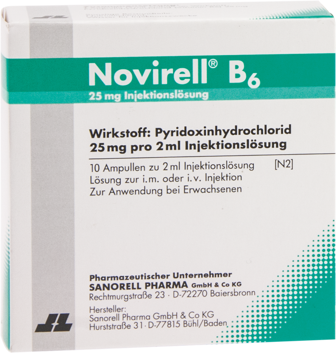 Novirell B6 25mg Injektionslösung