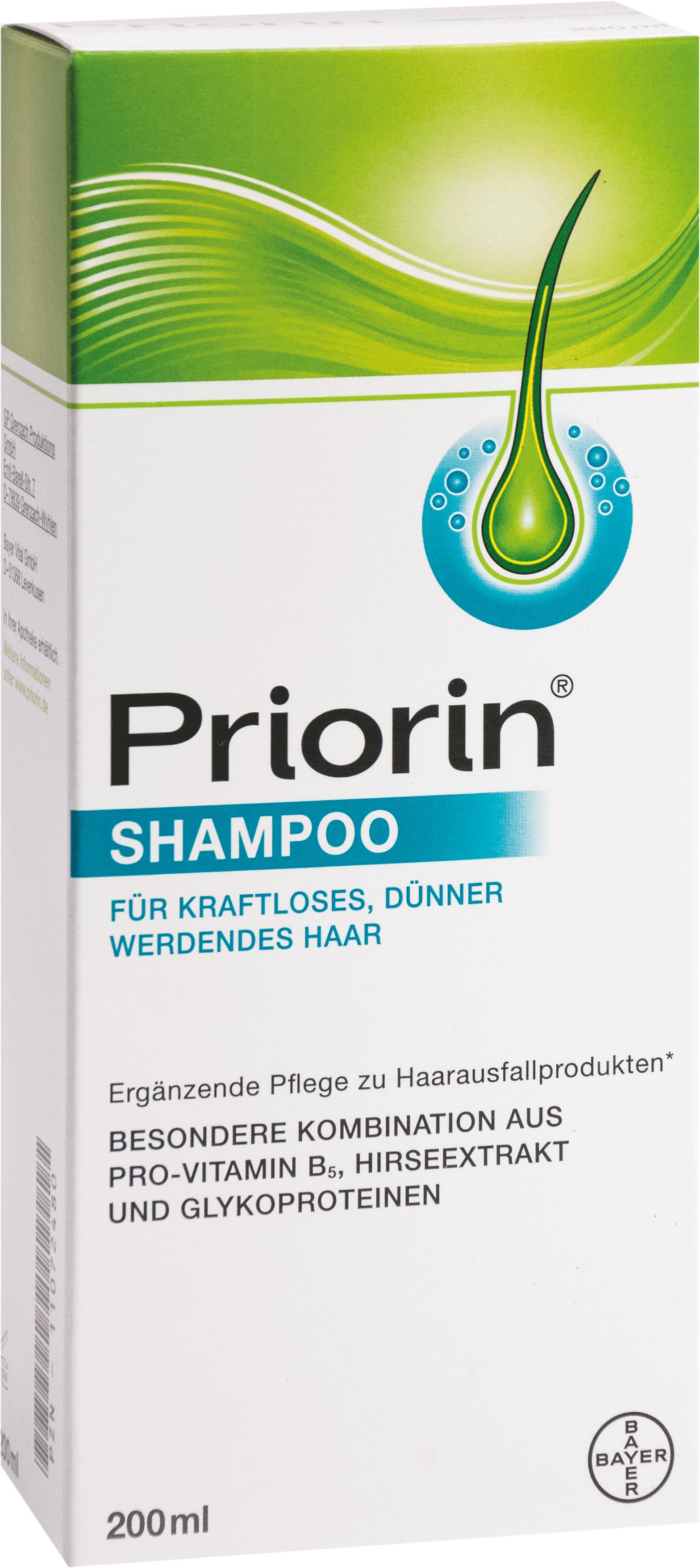 Priorin Shampoo f. kraftlos.dünner werdendes Haar