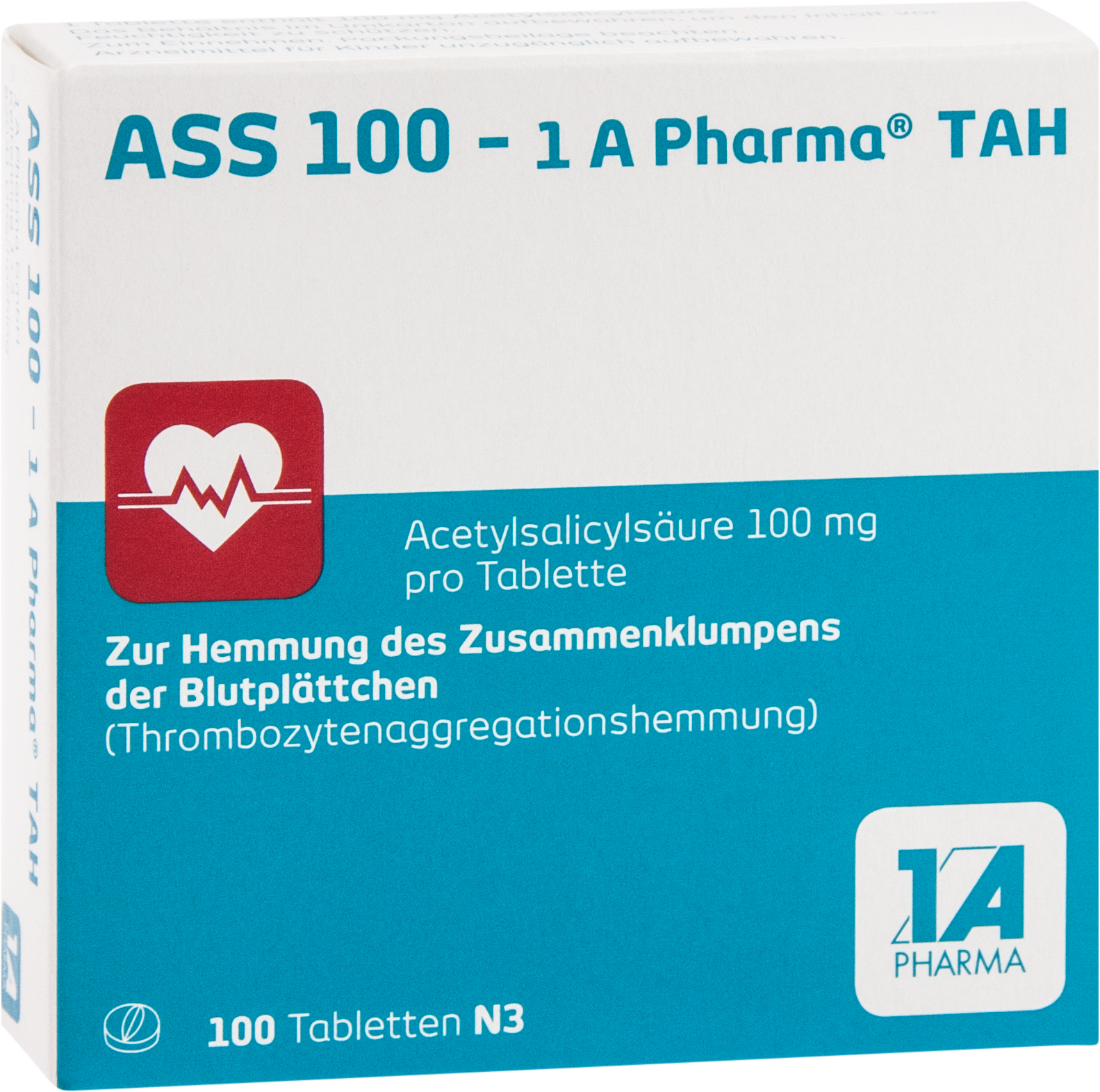 ASS 100 - 1 A Pharma TAH