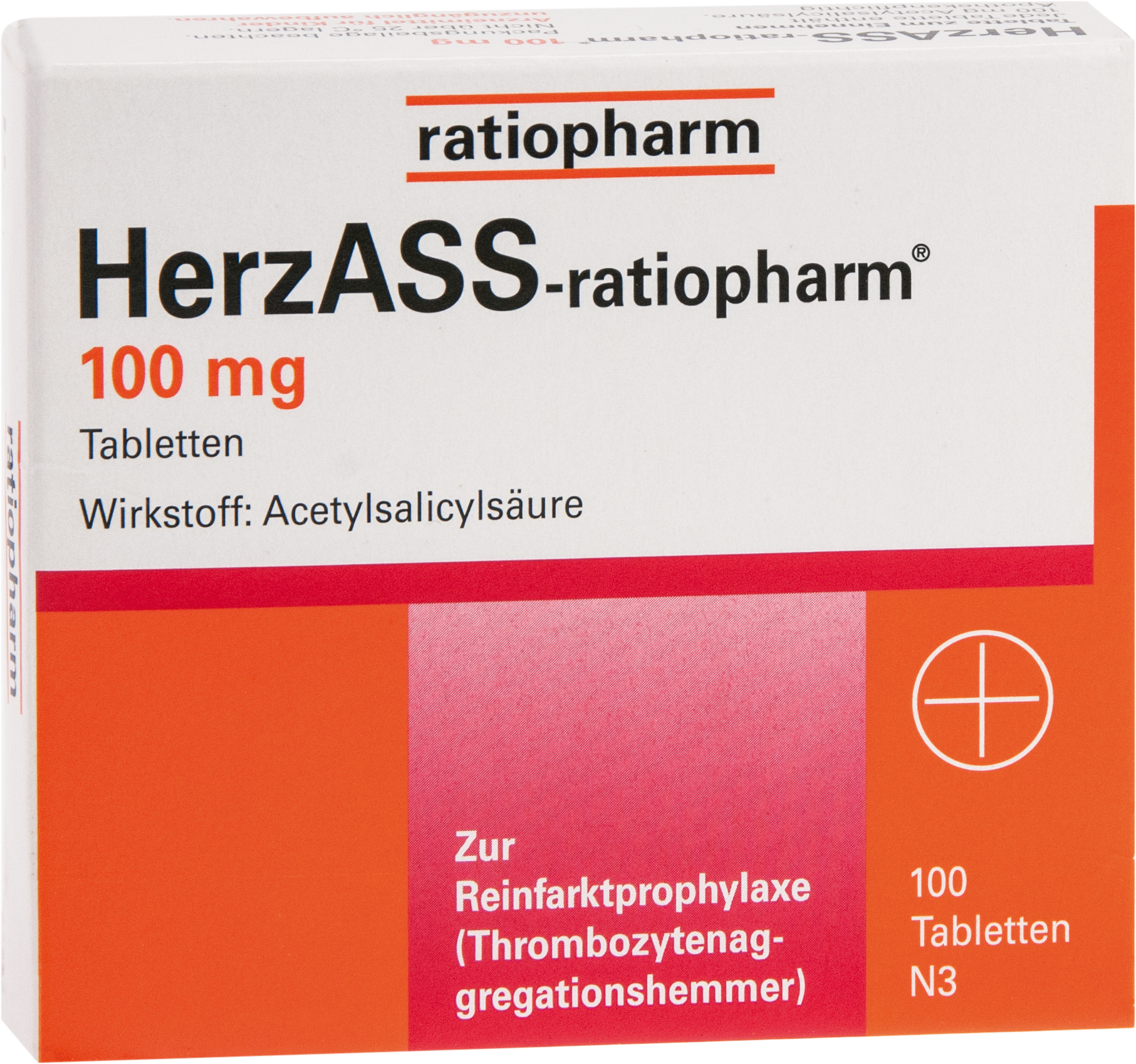 HerzASS-ratiopharm 100 mg