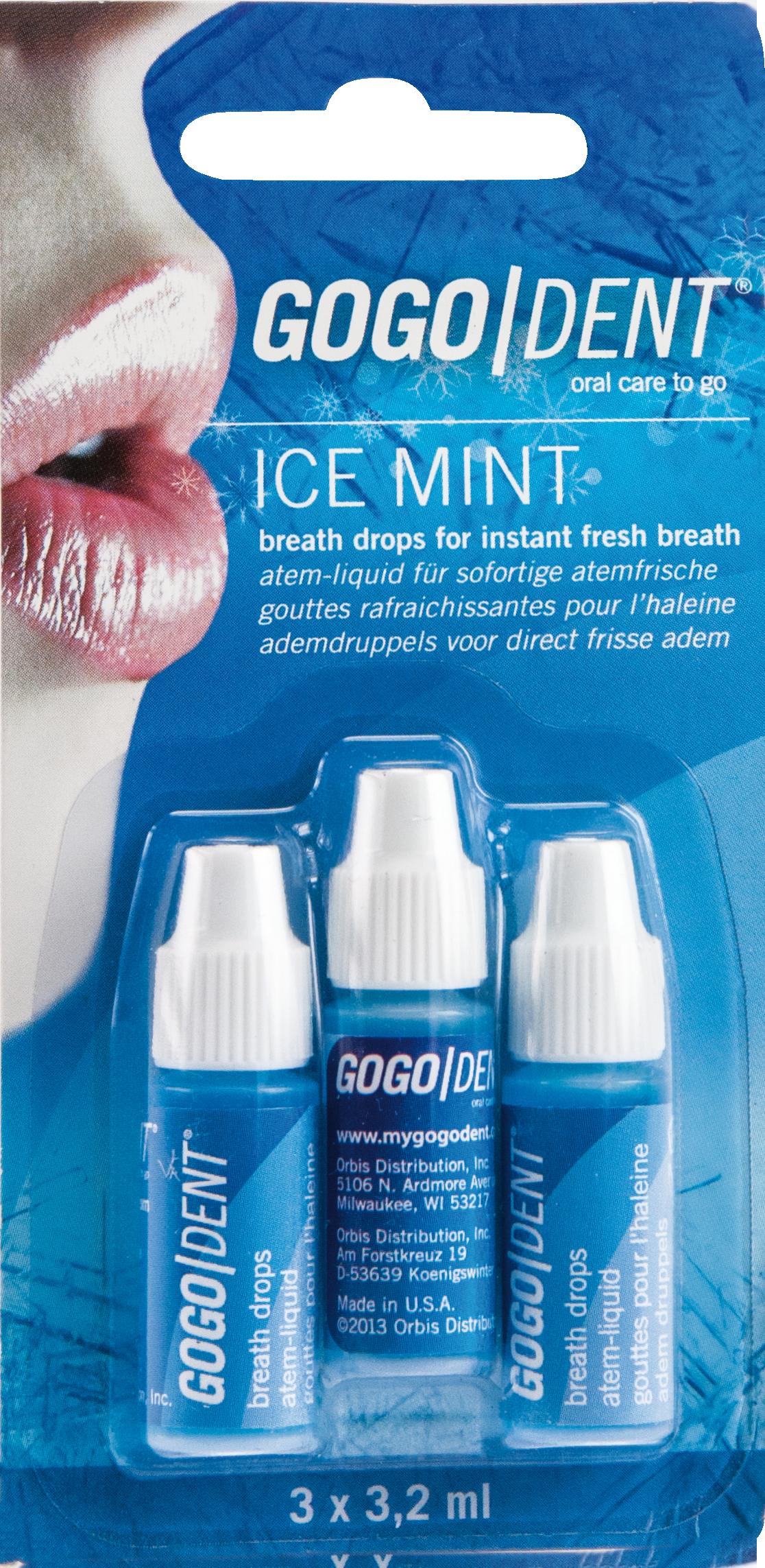 GoGo Dent Atem-Liquid Ice Mint