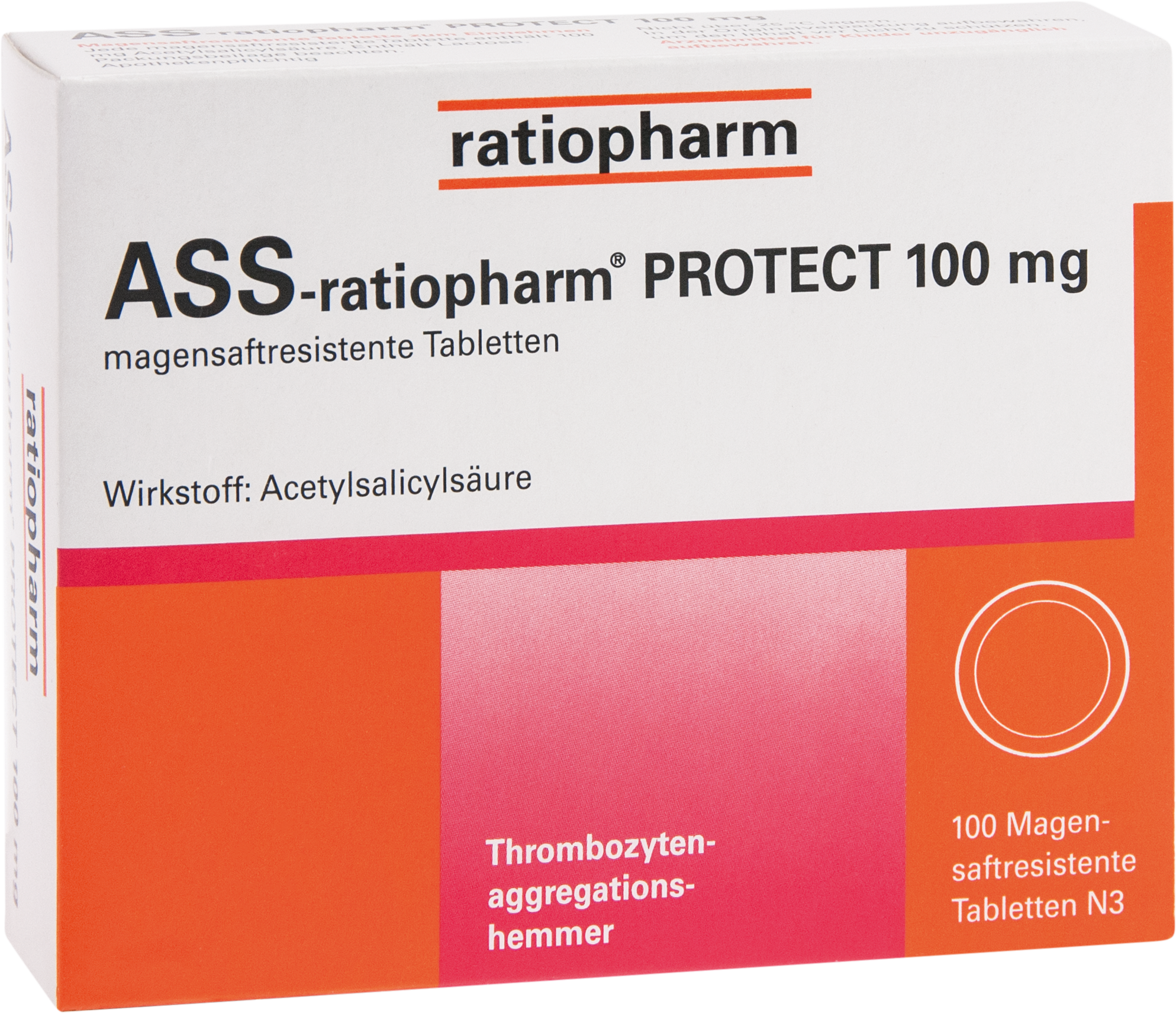 ASS-ratiopharm PROTECT 100mg