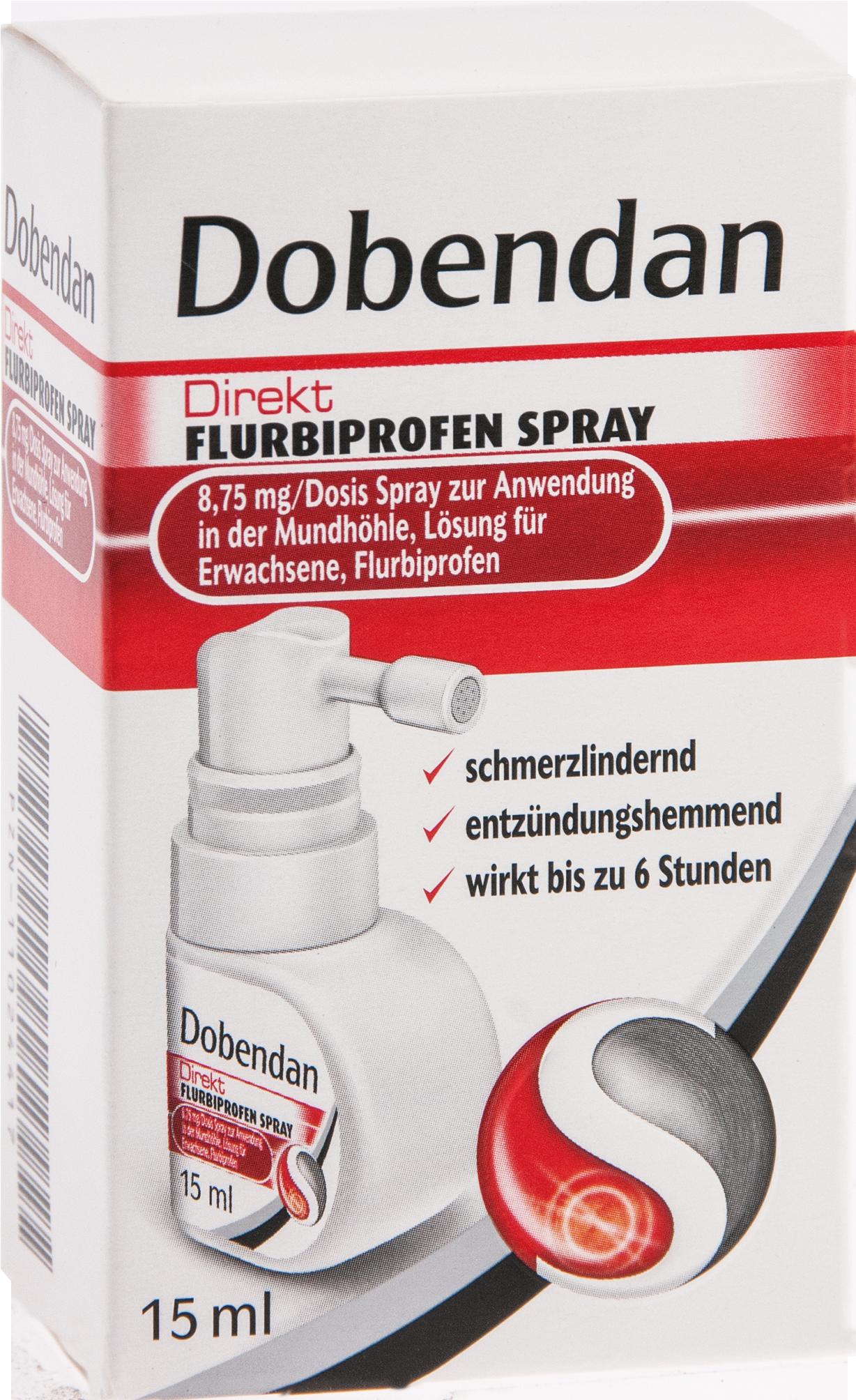 Dobendan Direkt Flurbiprofen Spray 8.75mg/Dos Mund