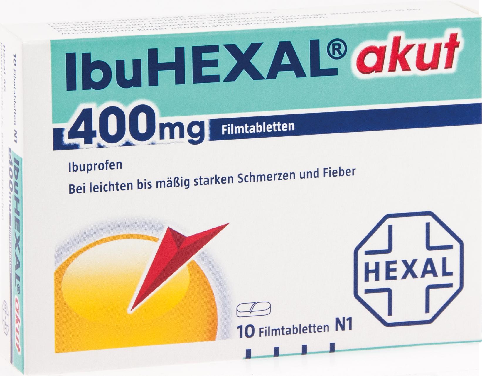 Ibuhexal akut 400