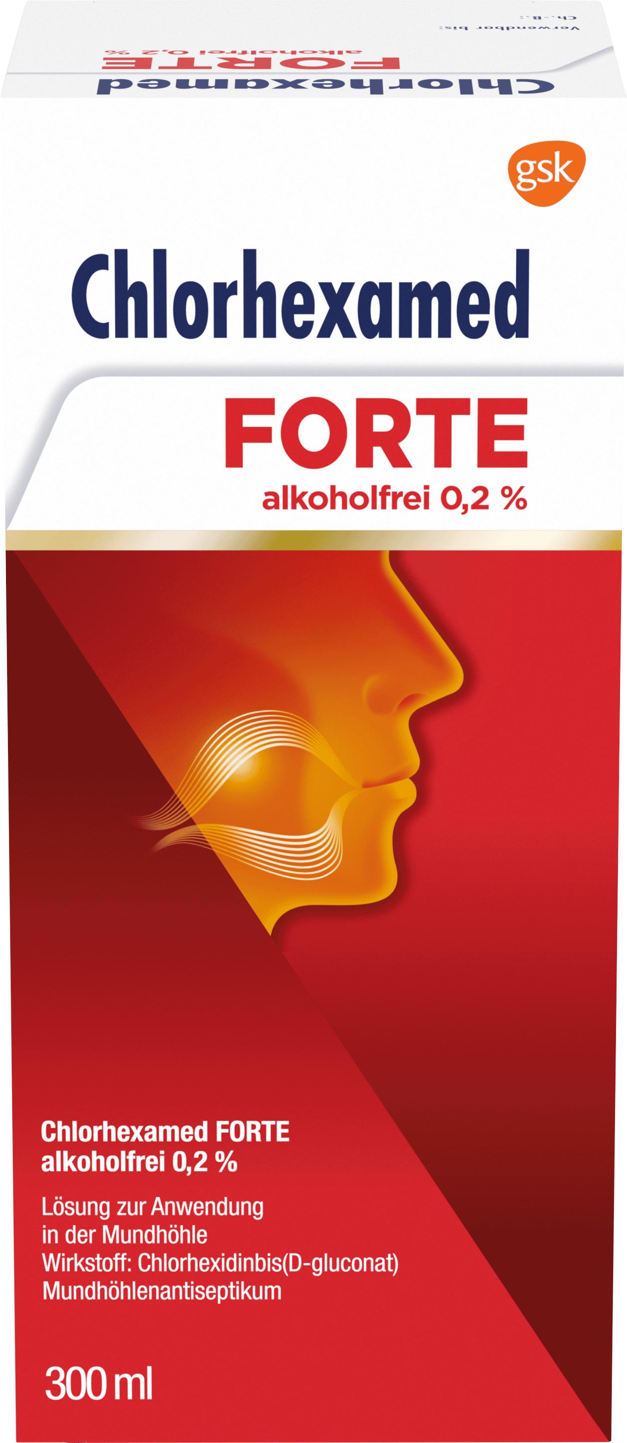 Chlorhexamed FORTE alkoholfrei 0.2%