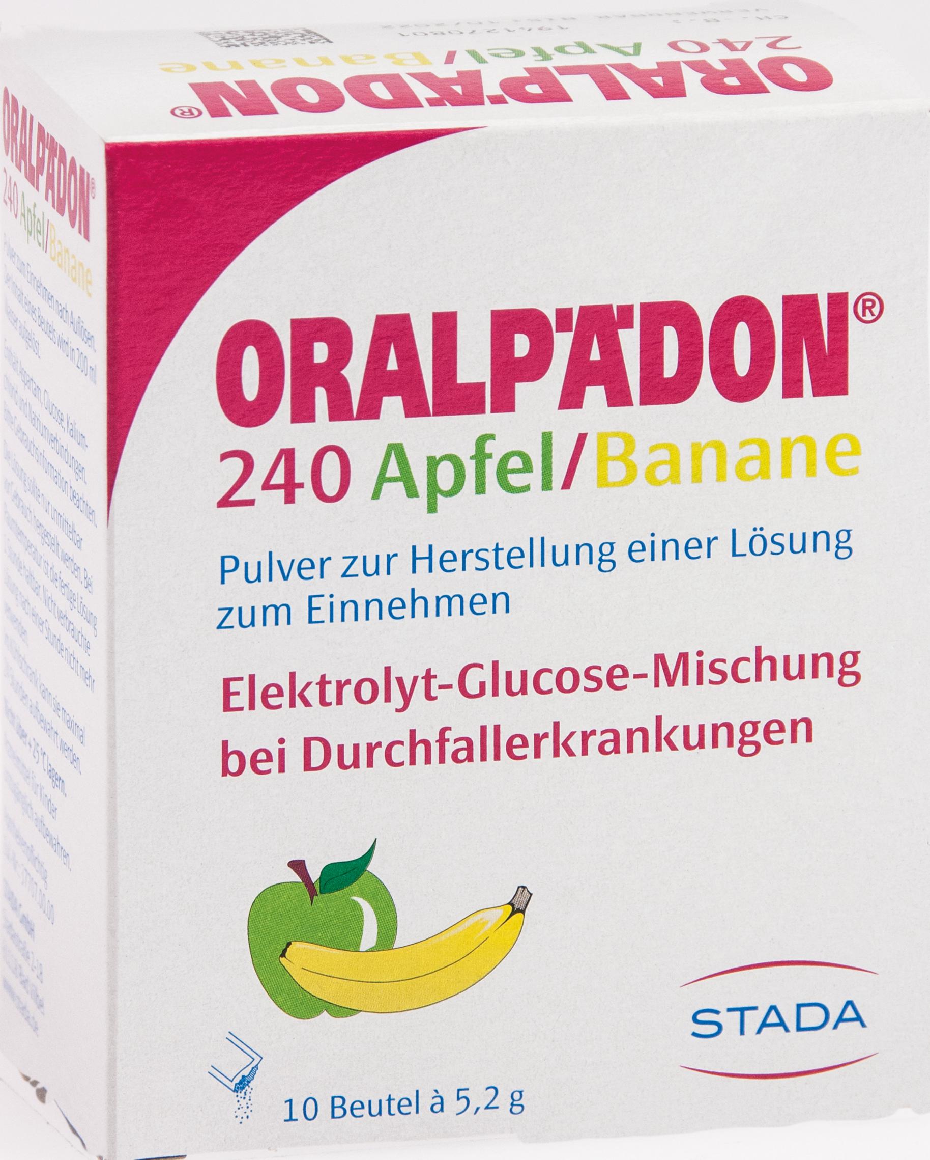 Oralpädon 240 Apfel-Banane