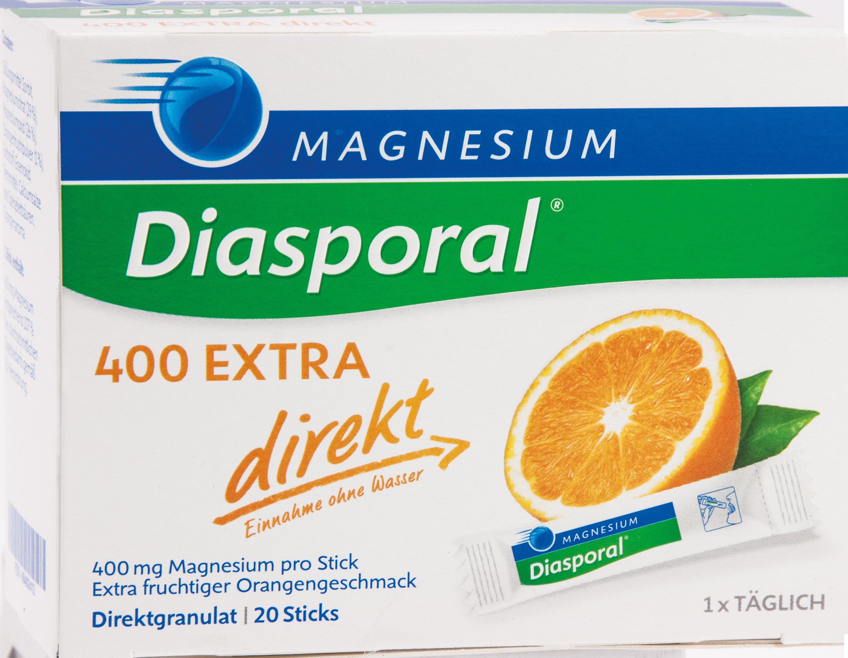 Magnesium-Diasporal 400 Extra direkt