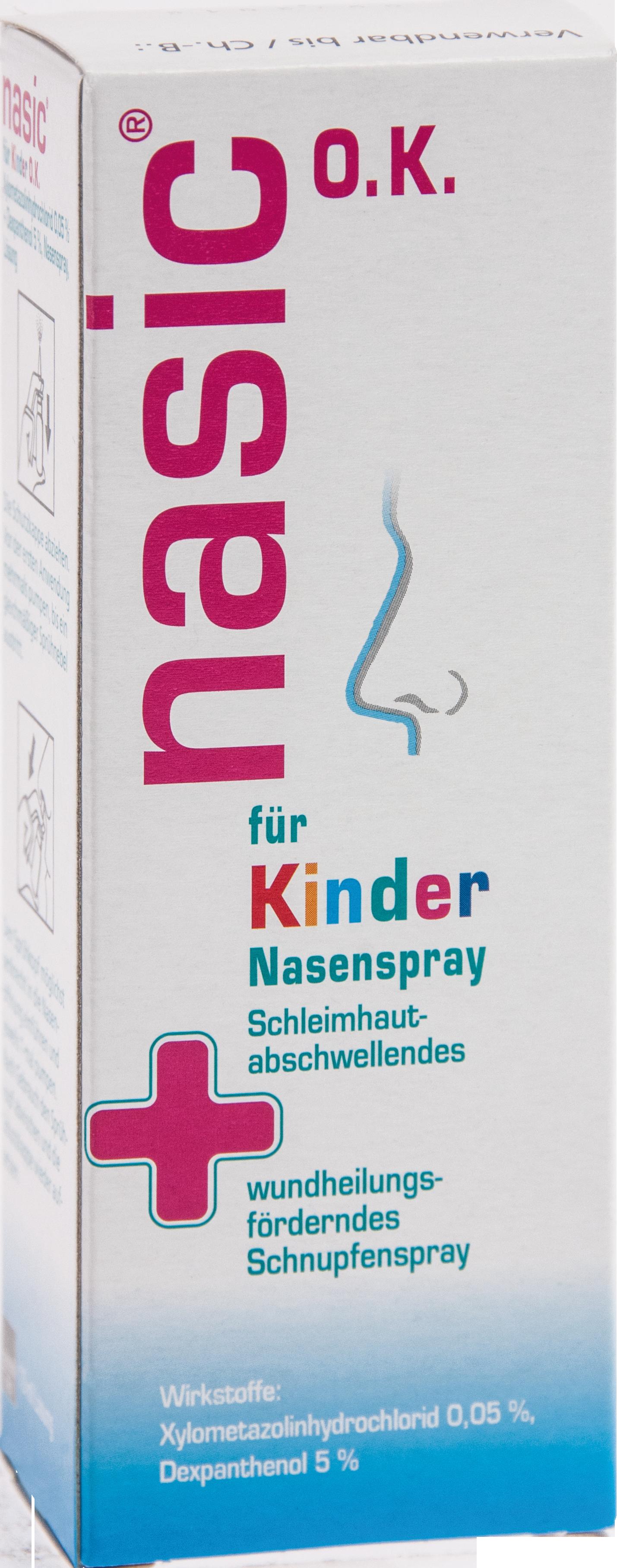 Nasic für Kinder o.K.