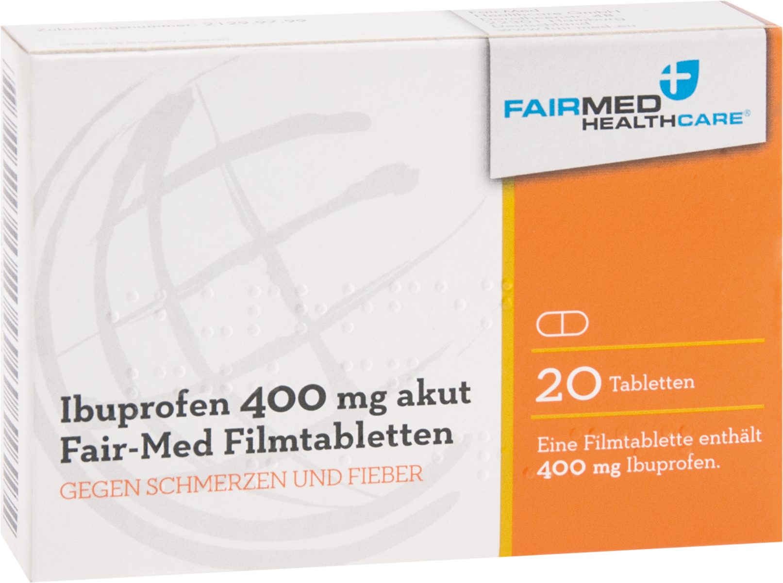 Ibuprofen 400mg akut Fair-Med Healthcare