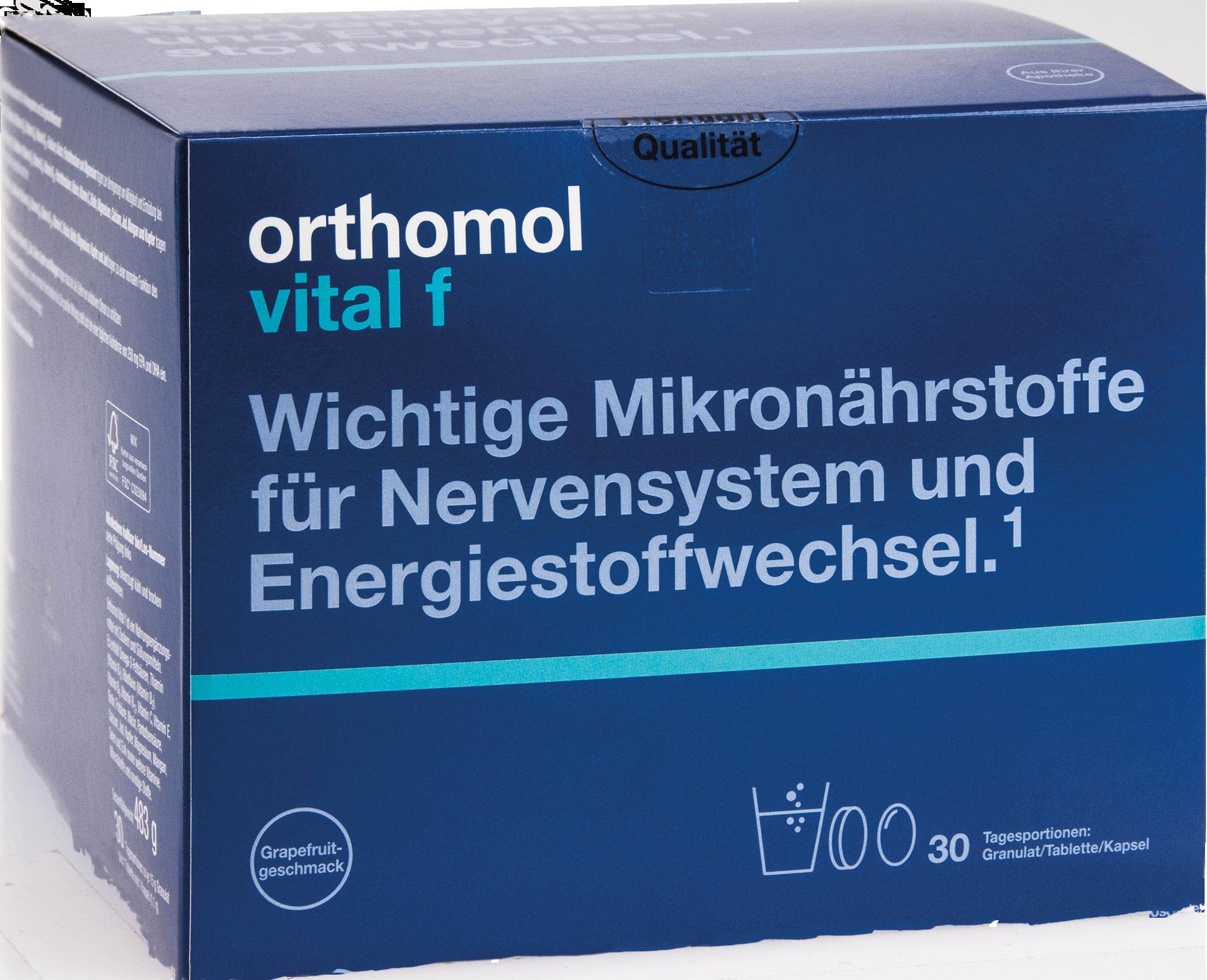 Orthomol Vital F Grapefruit Granulat/Kaps