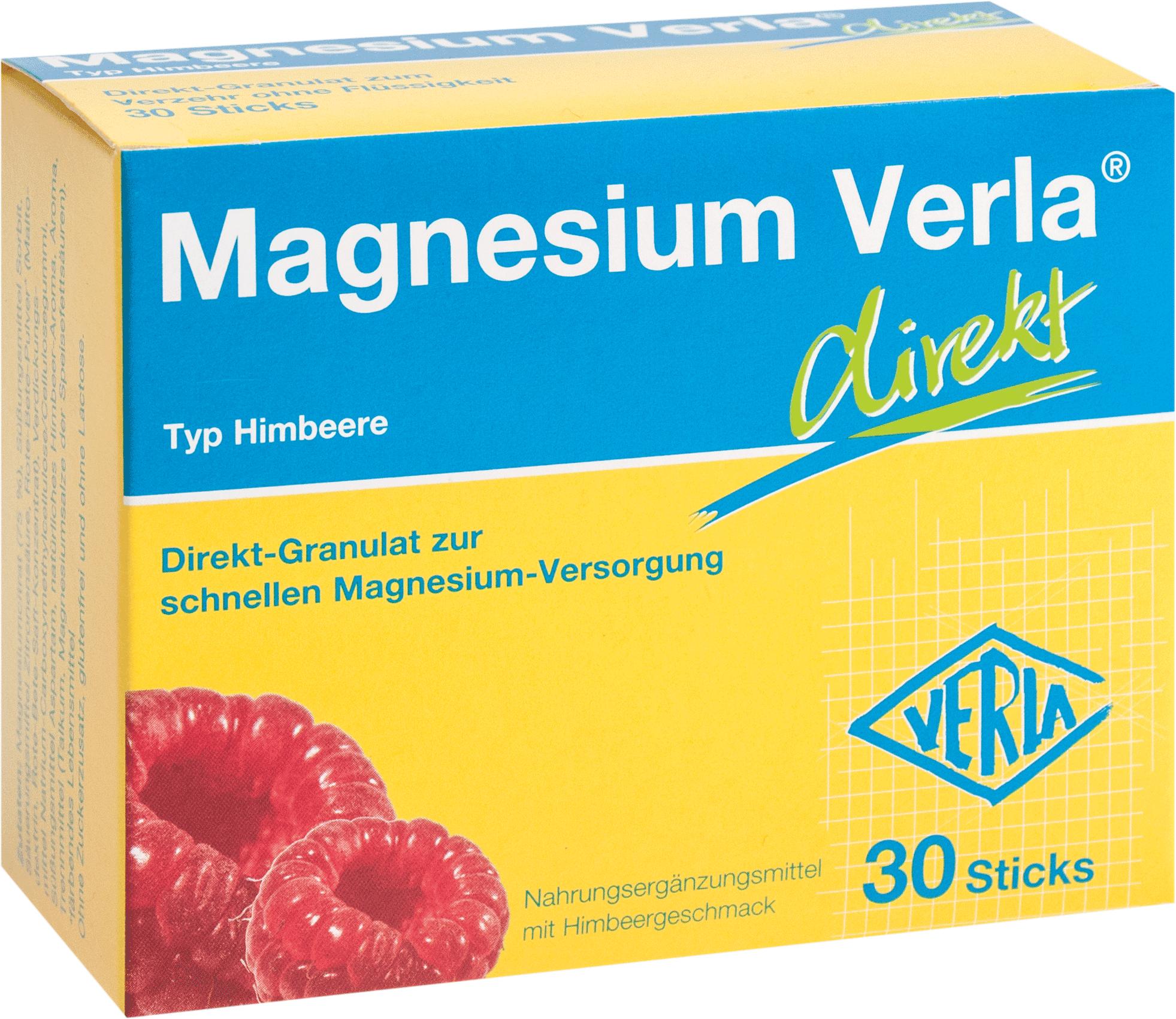 Magnesium Verla direkt Himbeere