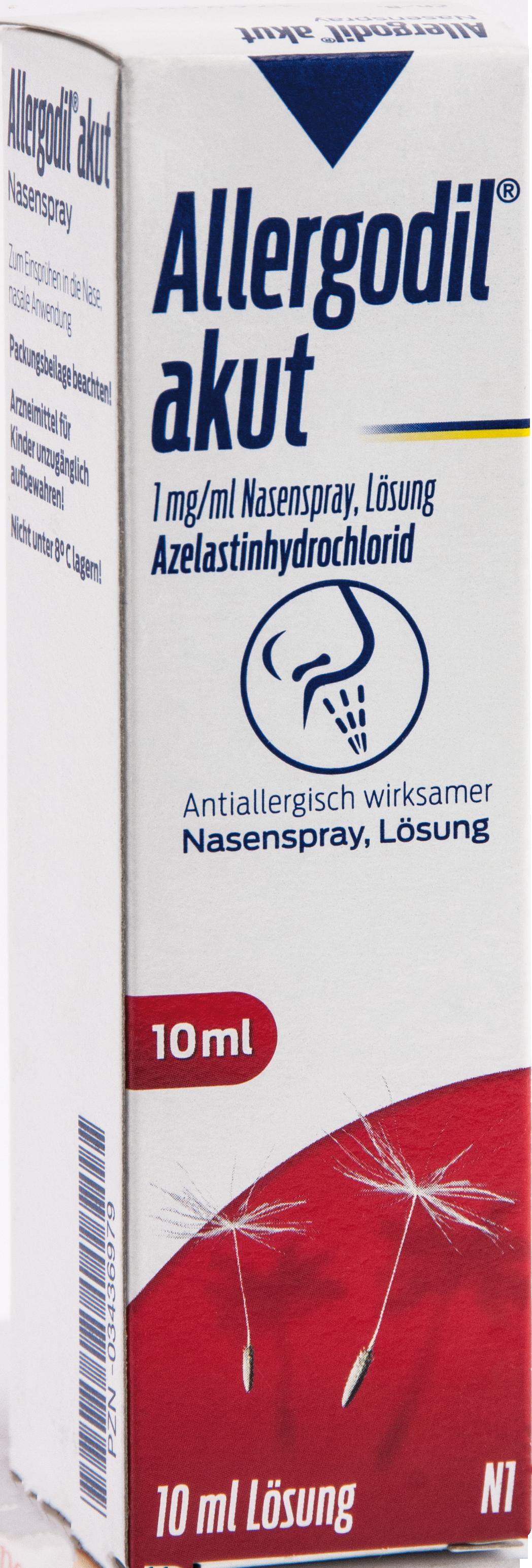 Allergodil akut Nasenspray