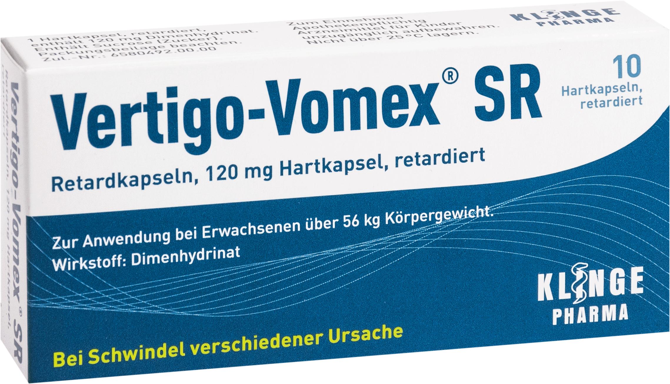 Vertigo-Vomex SR