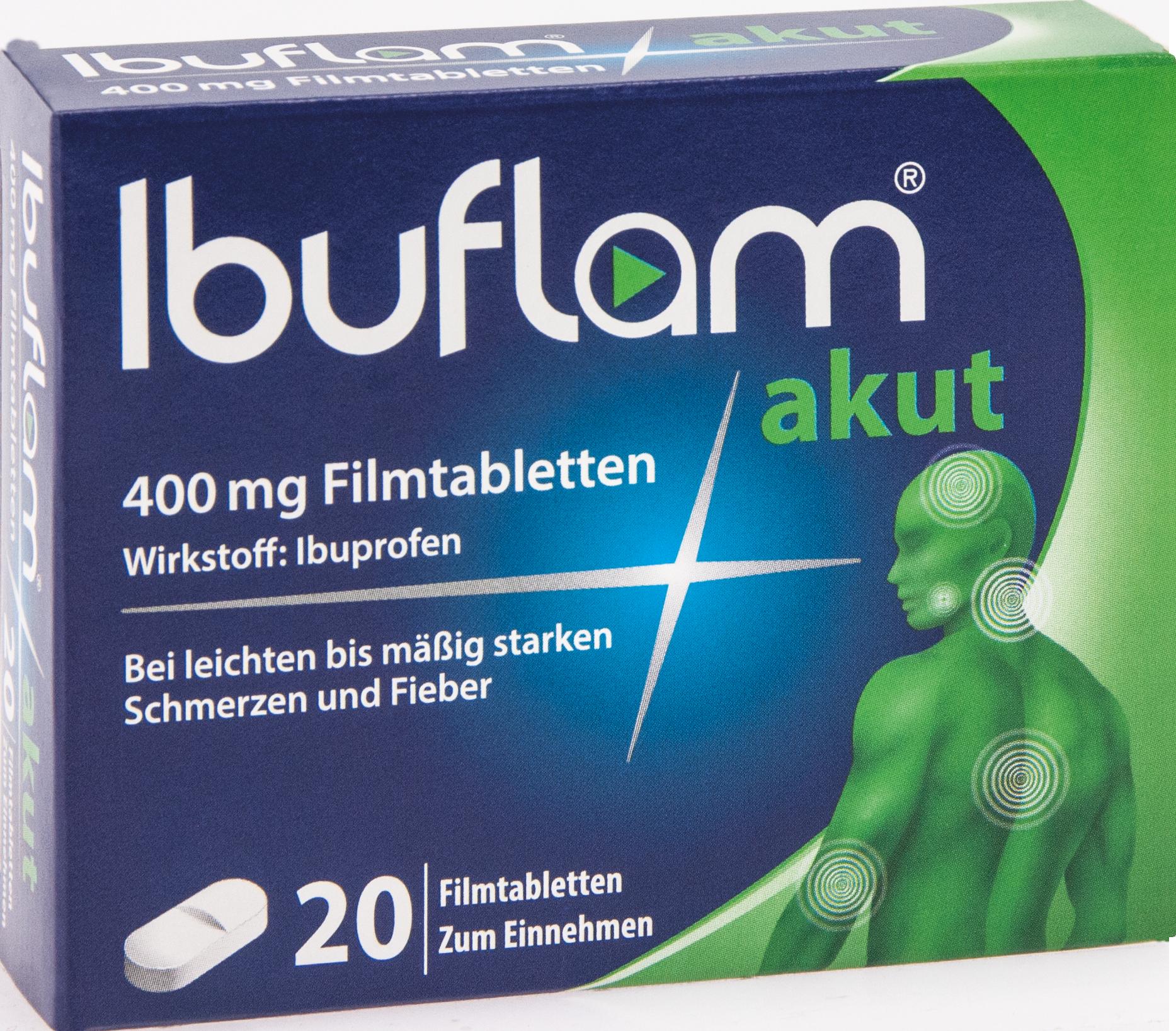 Ibuflam akut 400mg Filmtabletten