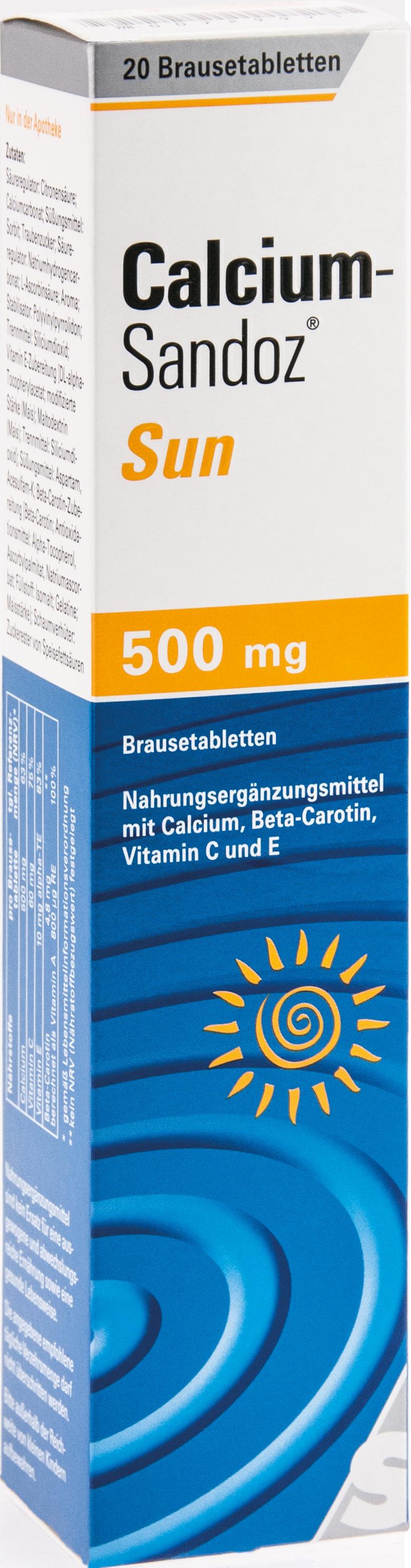 Calcium-Sandoz Sun