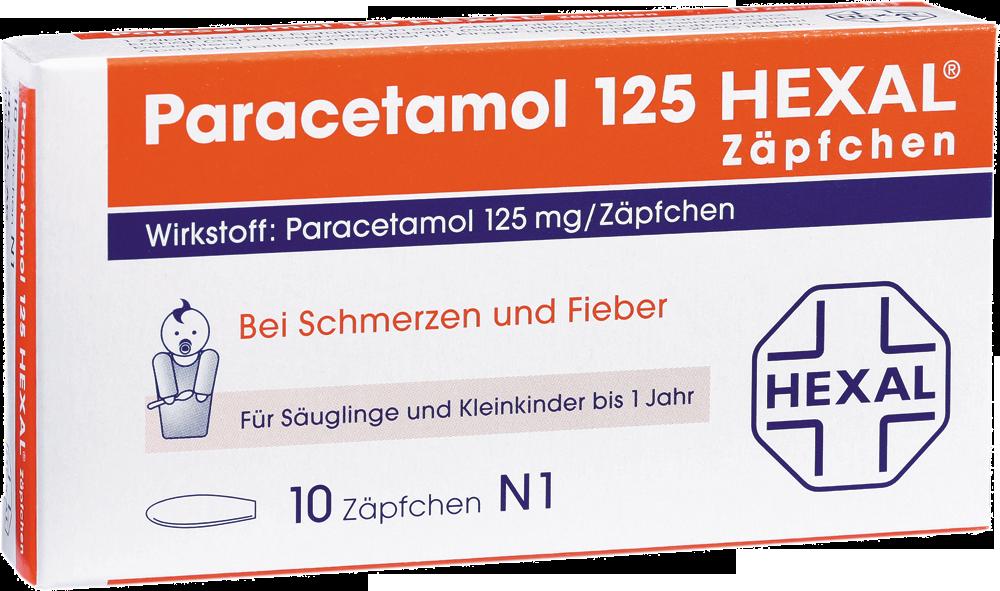 Paracetamol 125 Hexal Zaepfchen