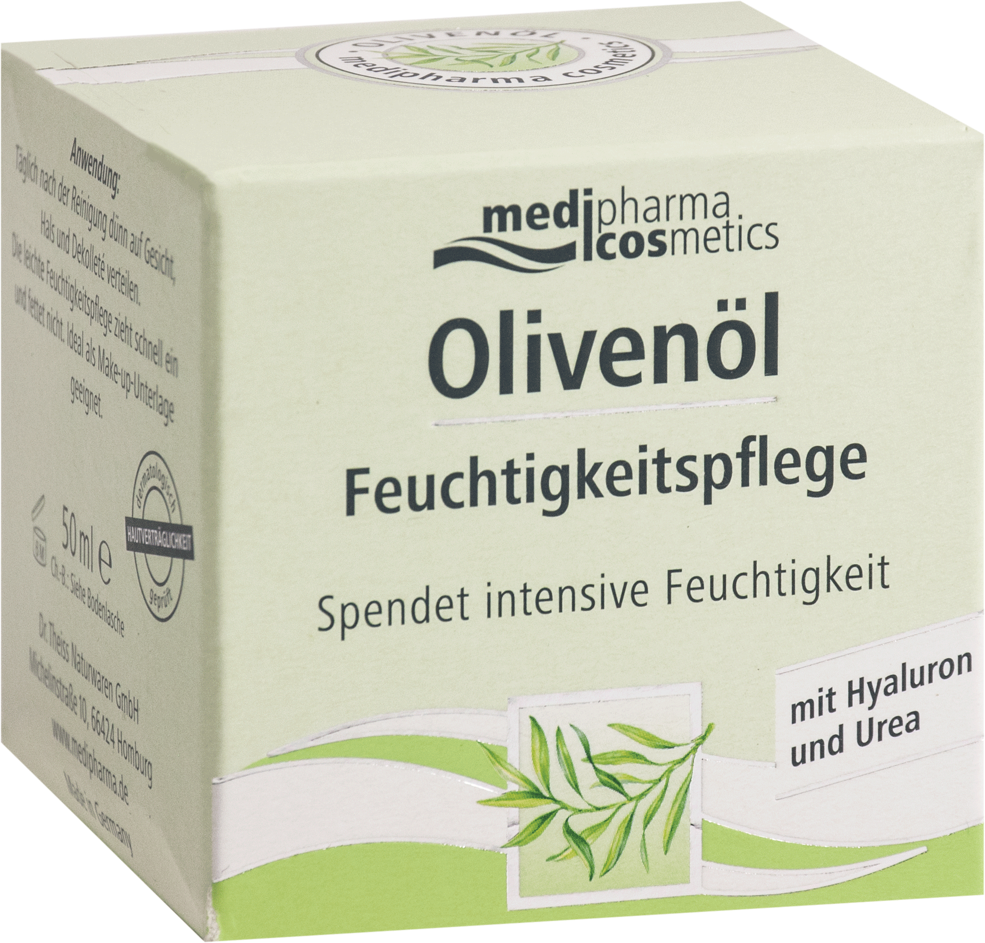 Olivenöl Feuchtigkeitspflege