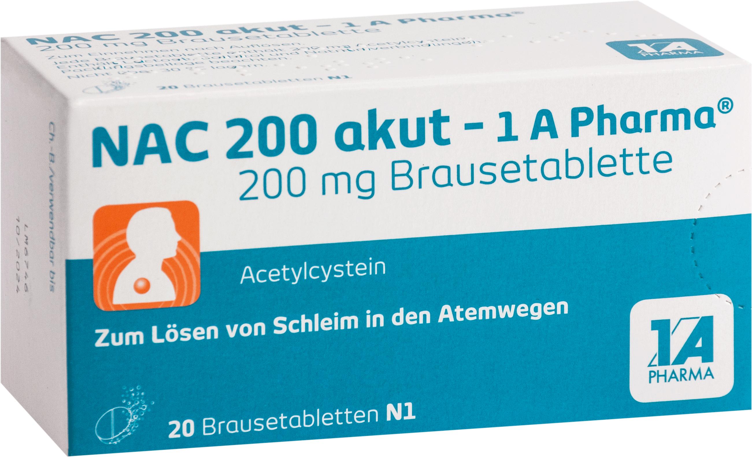 NAC 200 akut-1A-PHARMA