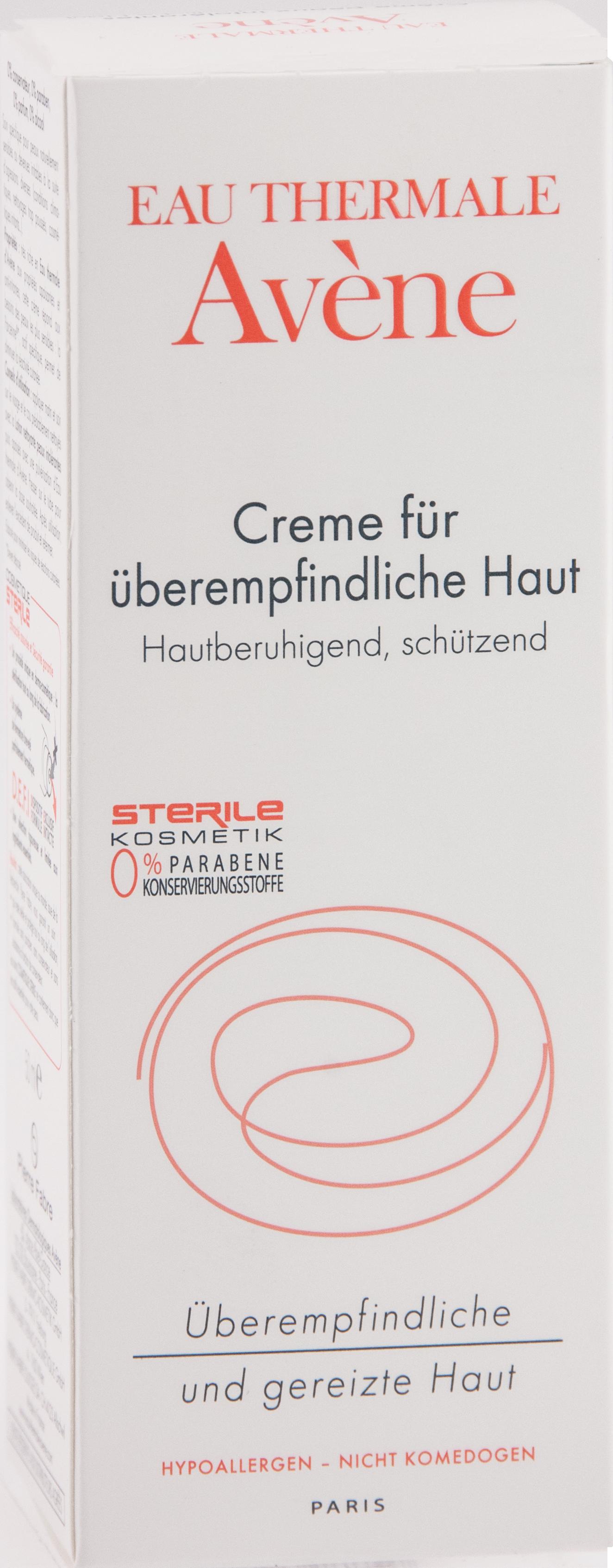 AVENE Creme für überempfindliche Haut DEFI