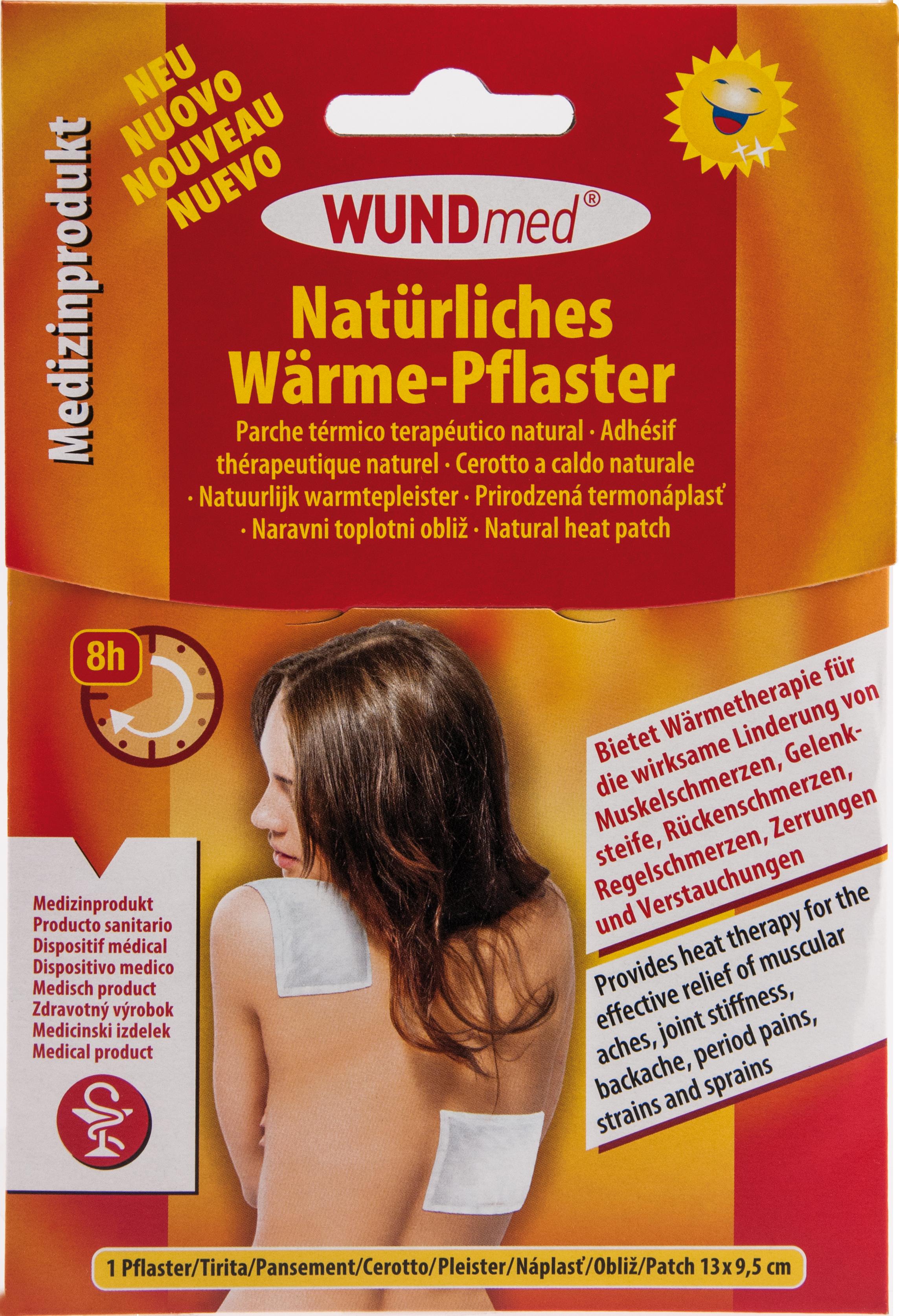 WÄRME-PFLASTER HYPOALLERGEN 13x9.5cm