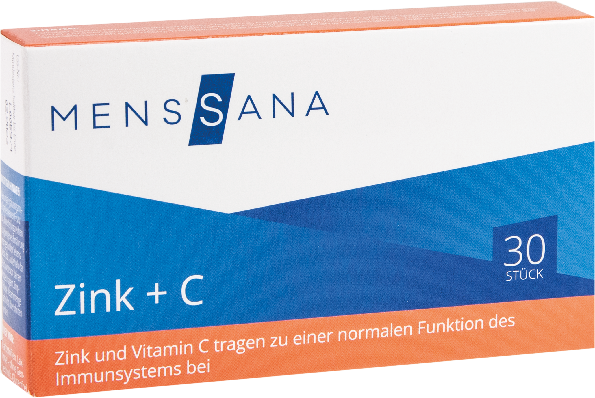 Zink + C MensSana