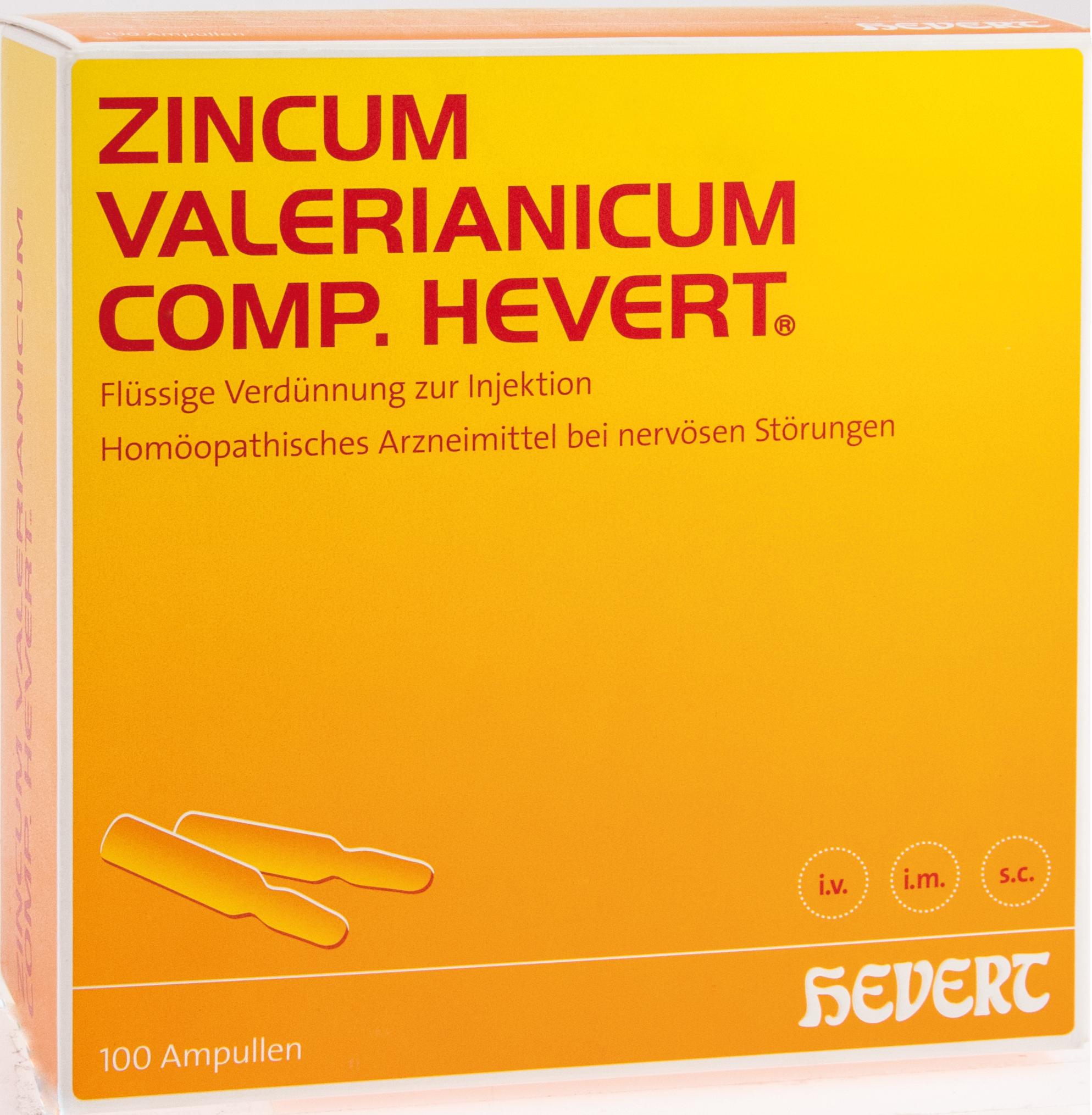 Zincum valerianicum comp.Hevert