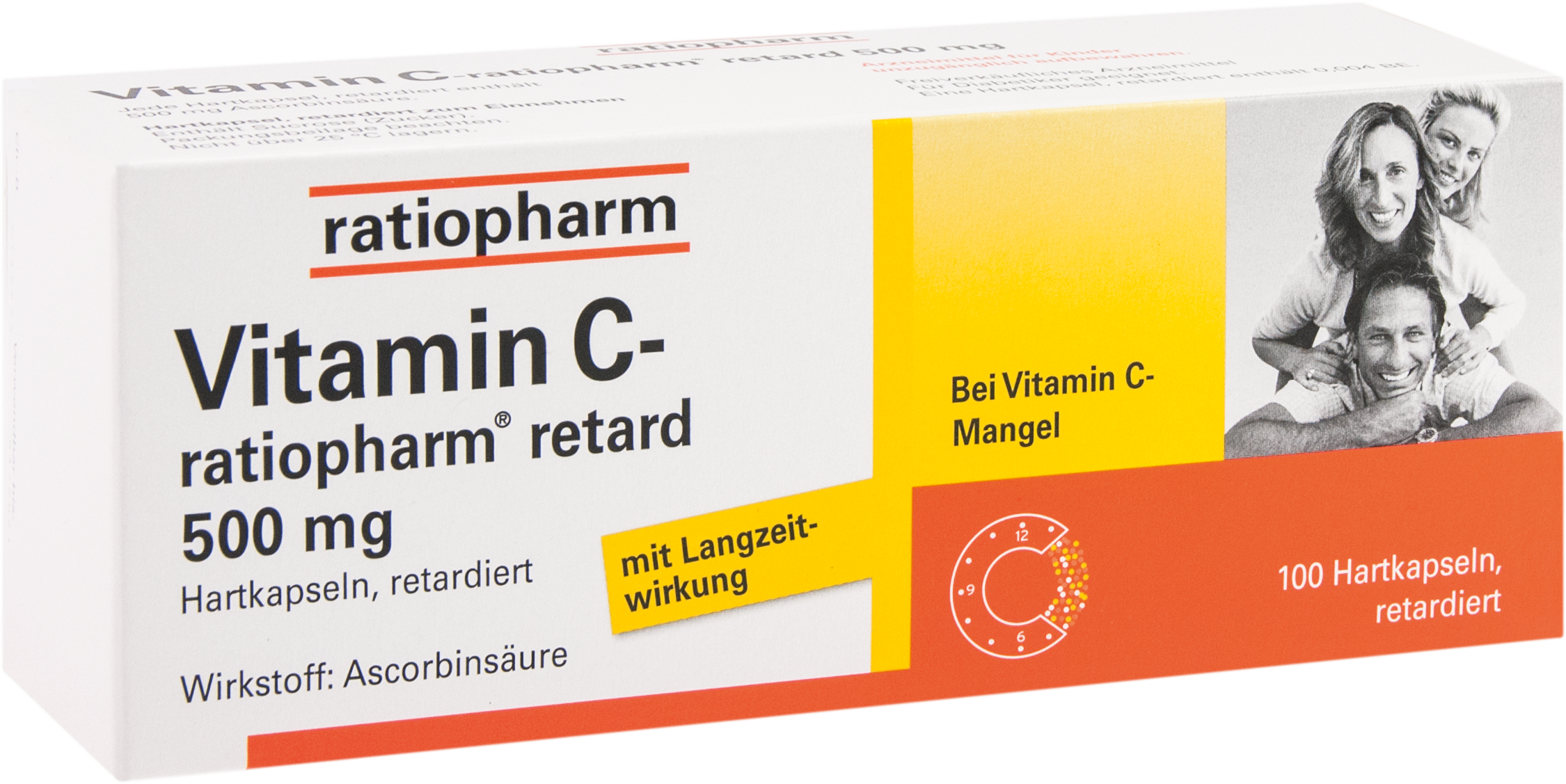 Vitamin C-ratiopharm retard 500 mg