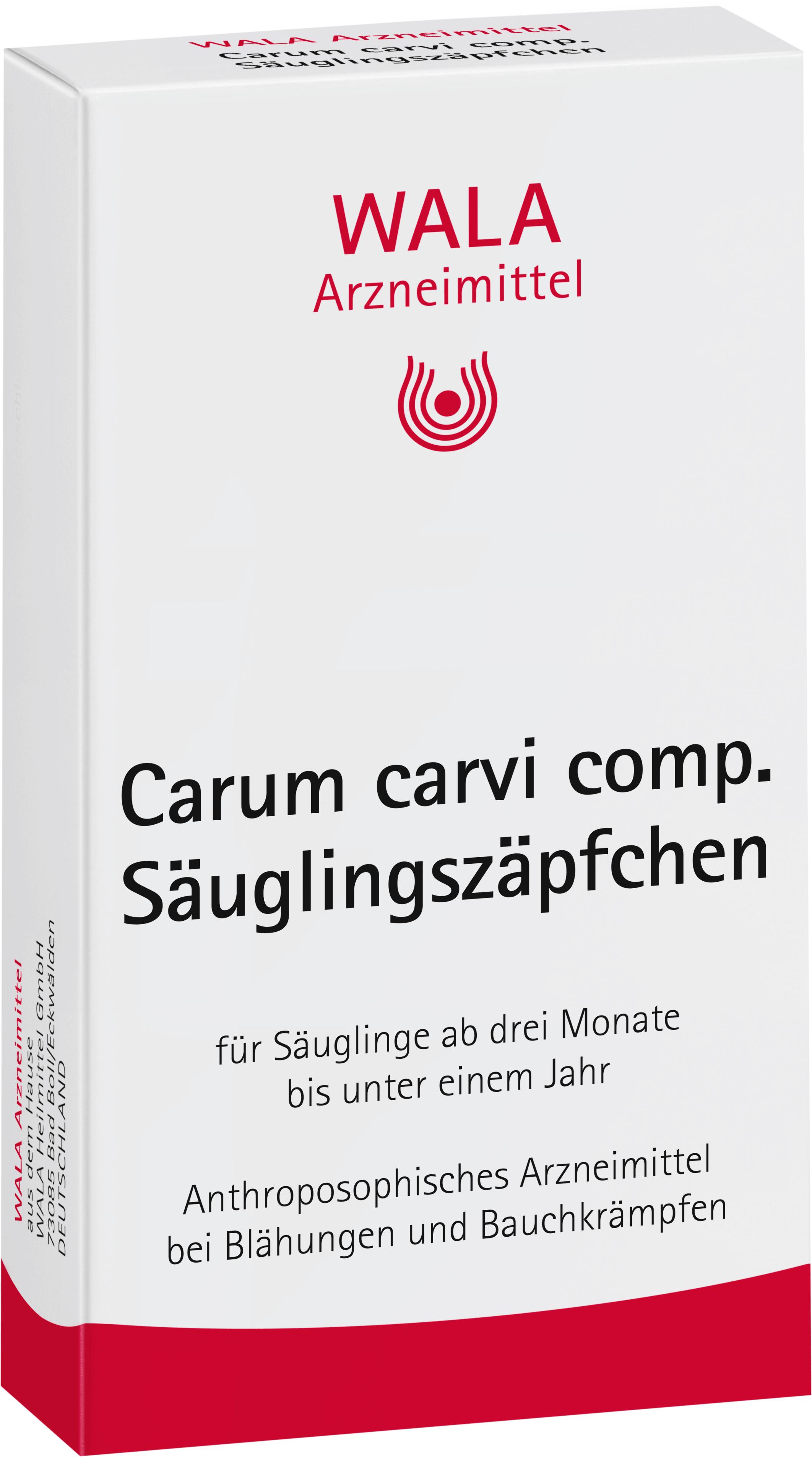 Carum carvi comp. Säuglingszäpfchen