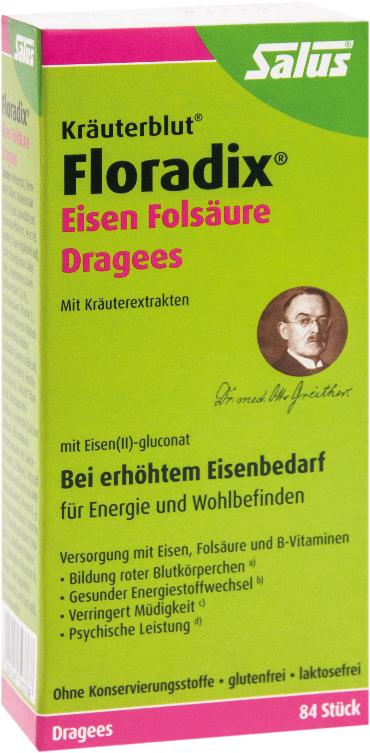 Floradix Eisen Folsäure Dragees