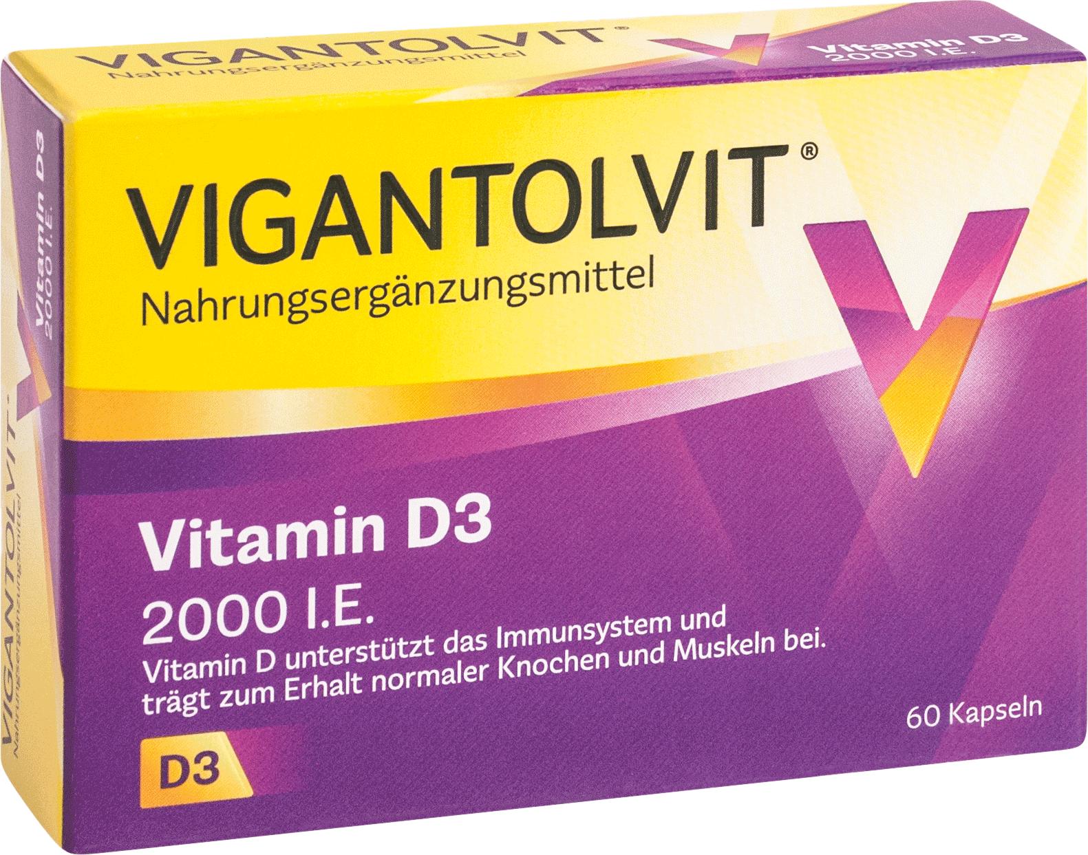 Vigantolvit 2000 I.E. Vitamin D3